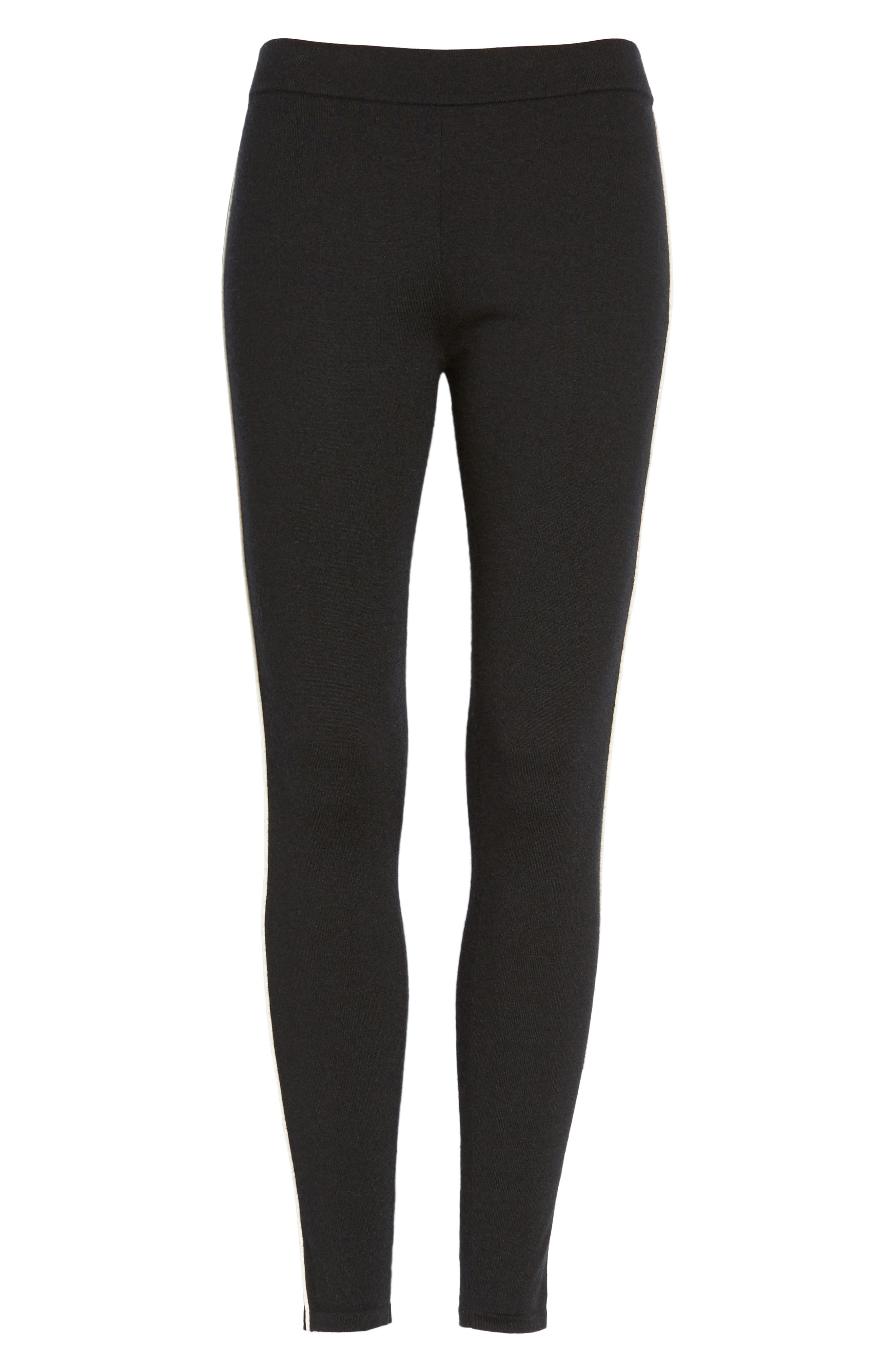 Alternate Image 6  - James Perse Stretch Cashmere Leggings