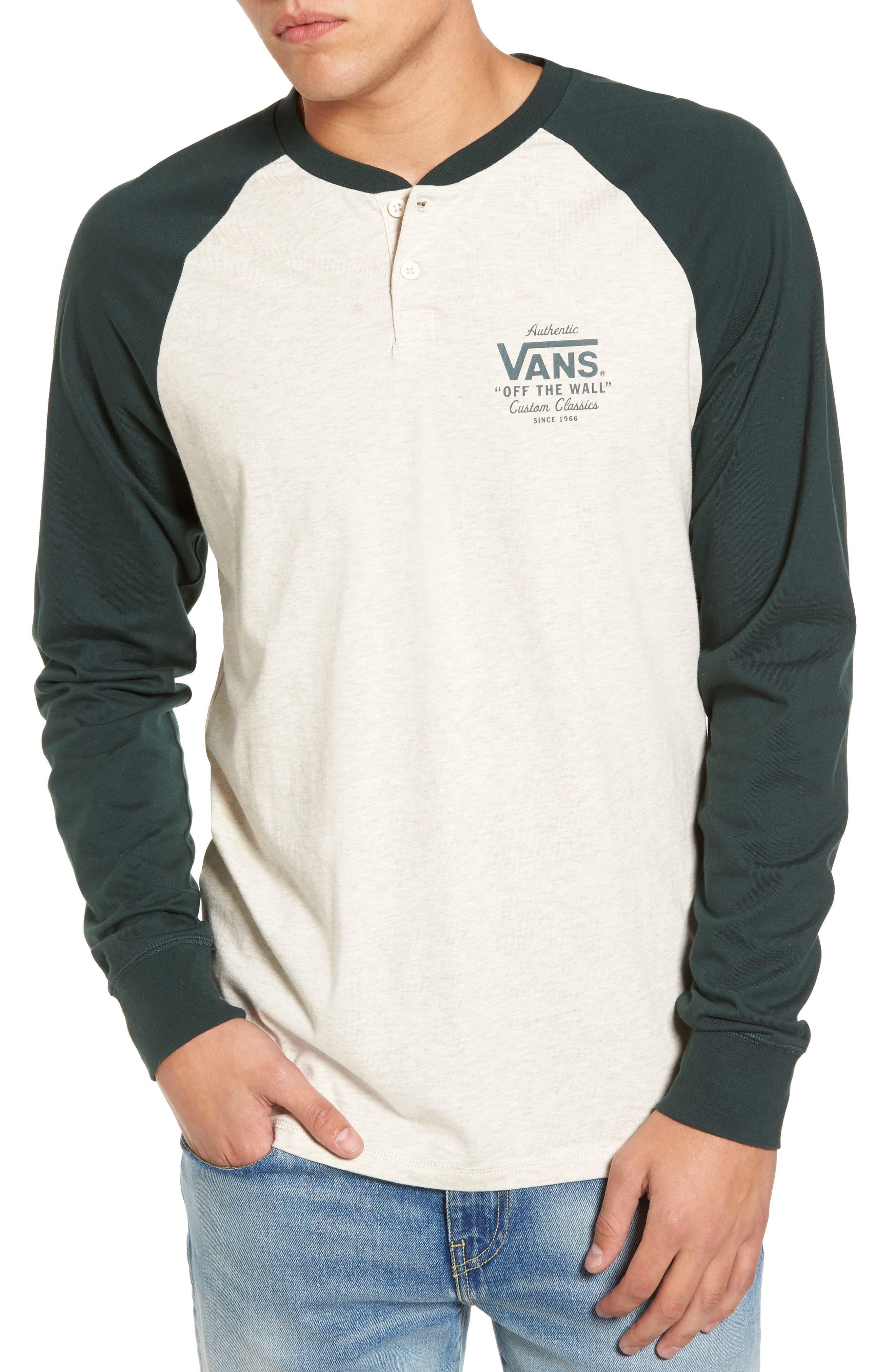 Denton Graphic T-Shirt,                         Main,                         color, Oatmeal Heather/ Vans Scarab