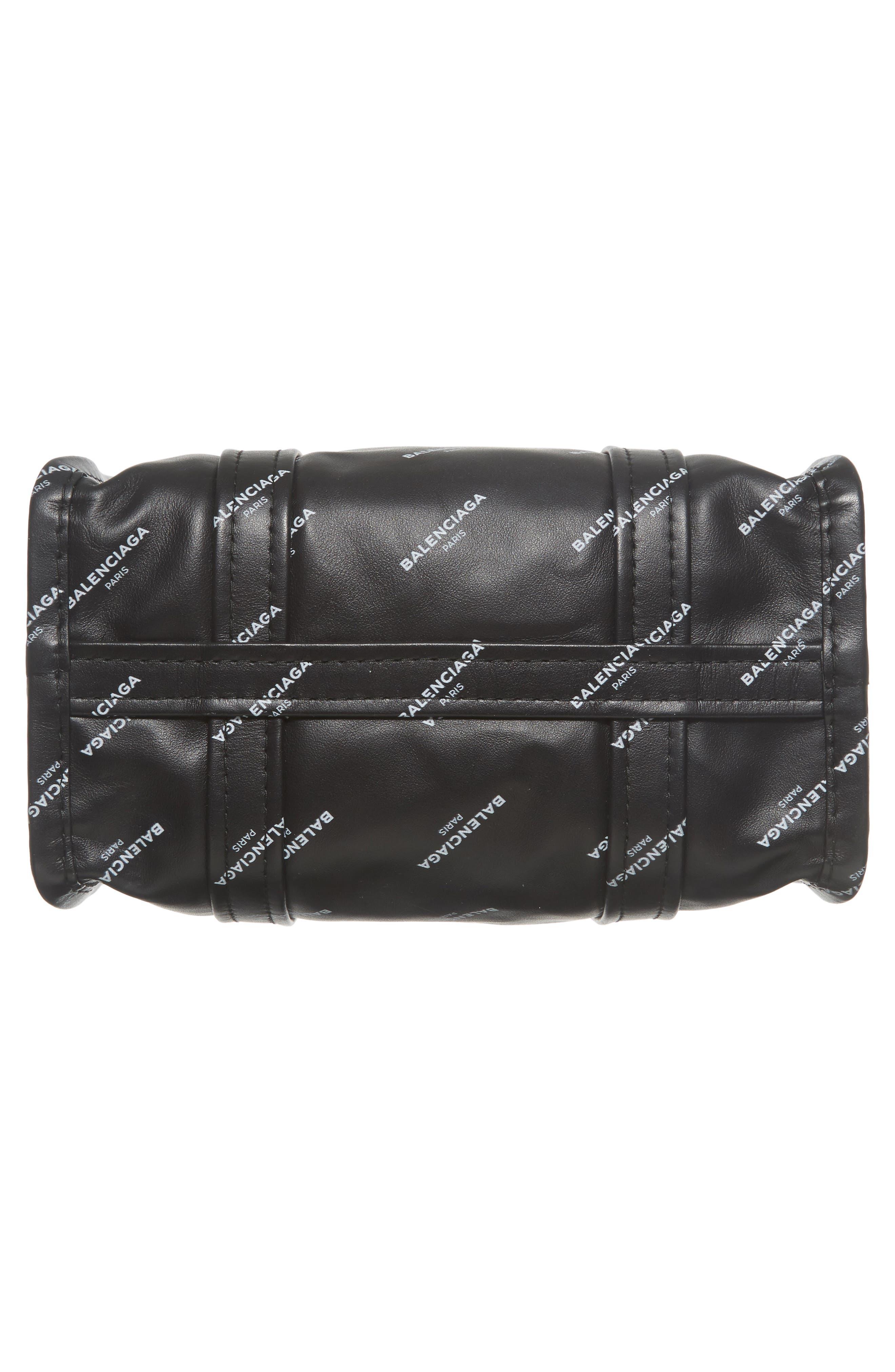 Alternate Image 6  - Balenciaga Extra Small Bazar Logo Leather Shopper