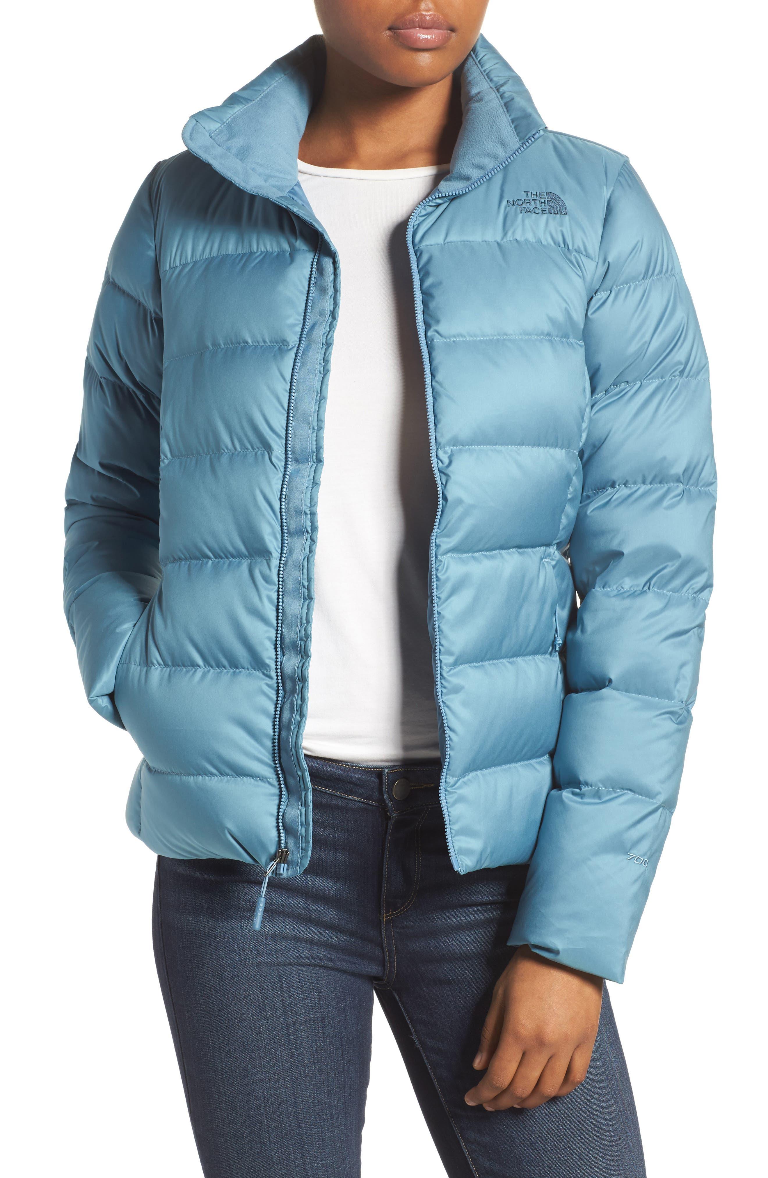 Nuptse Down Jacket,                         Main,                         color, Provincial Blue