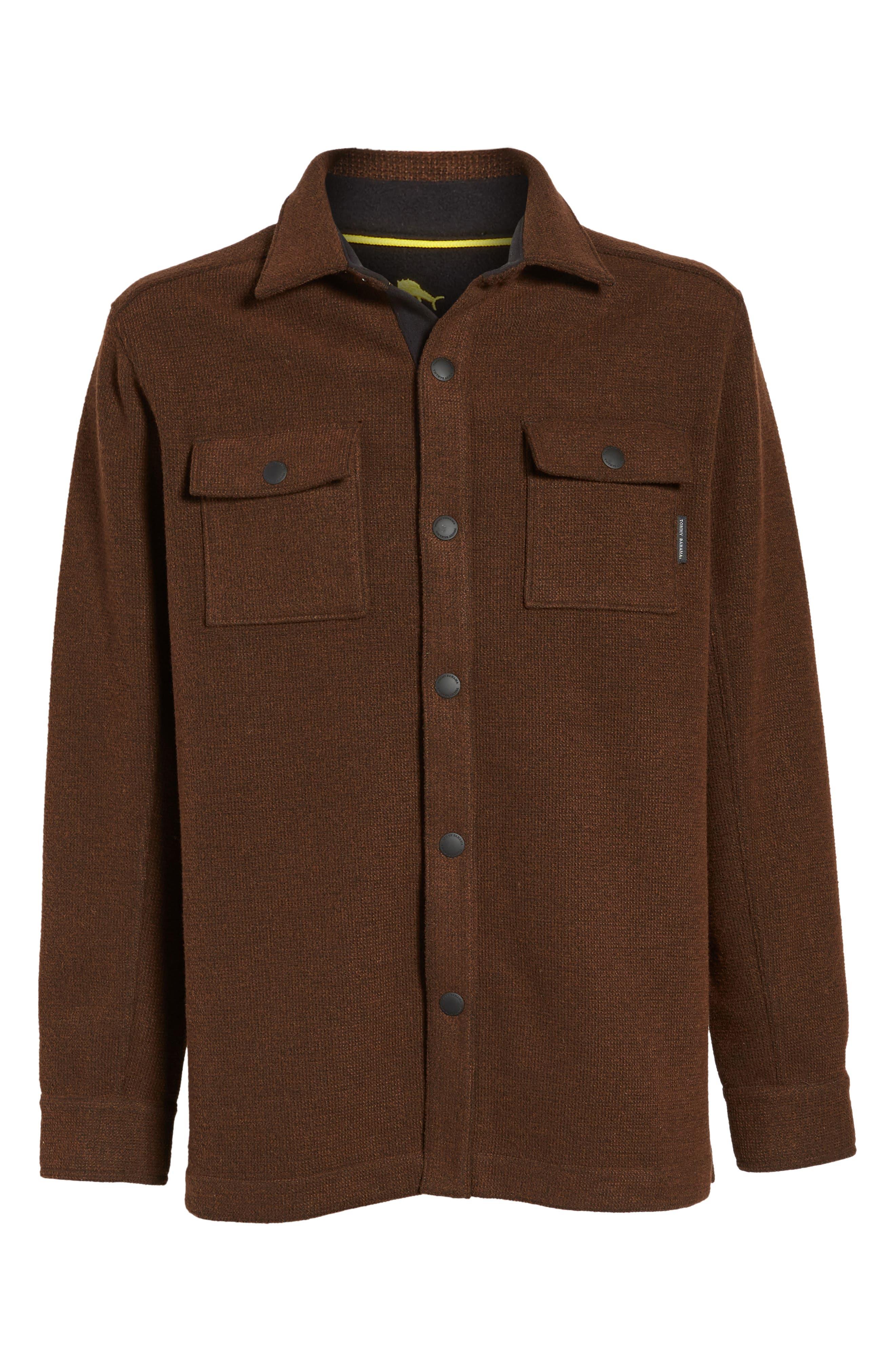 Alternate Image 6  - Tommy Bahama Paradise Creek Snap Front Fleece Jacket