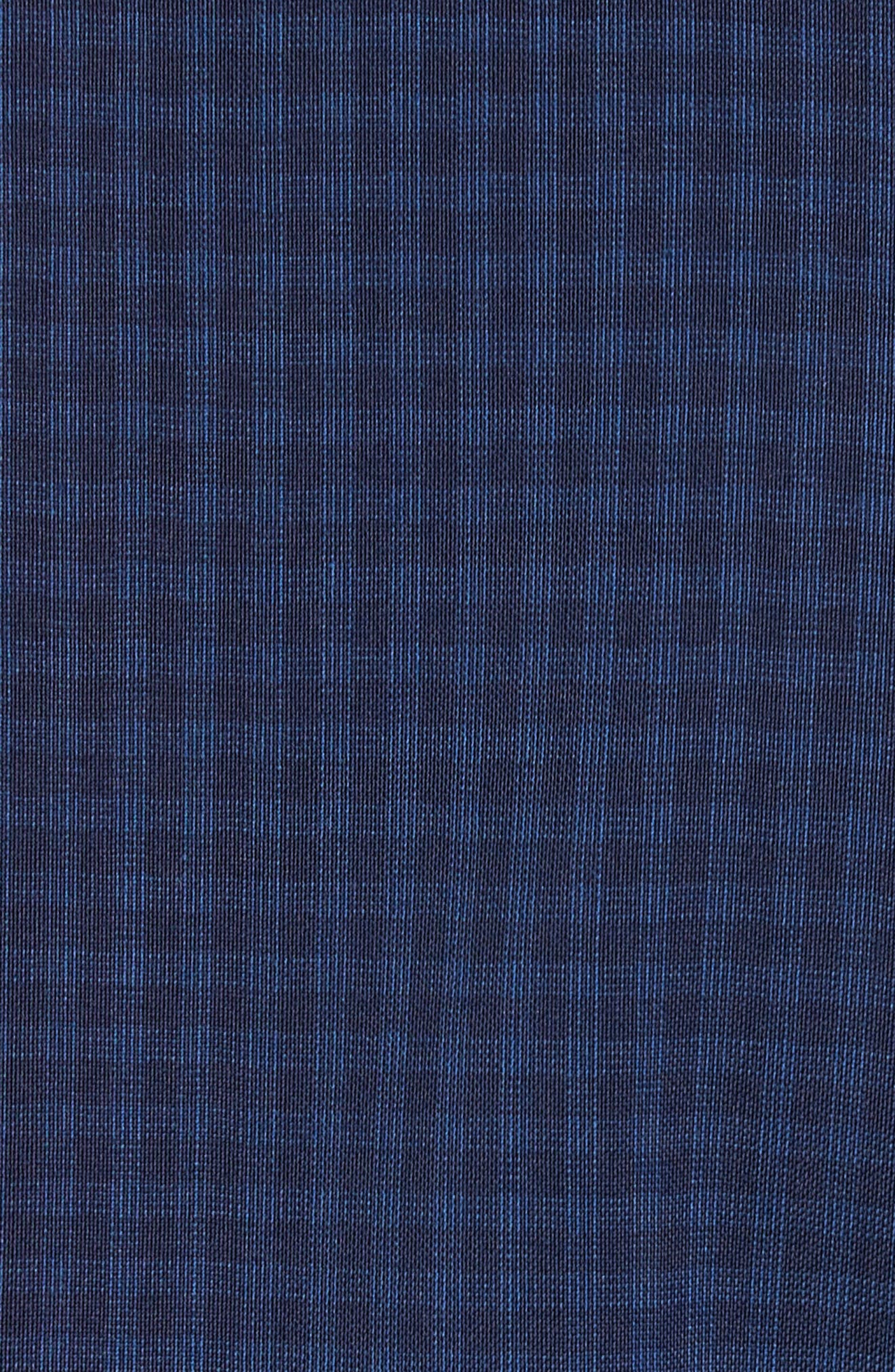 Jay Trim Fit Stretch Wool Suit,                             Alternate thumbnail 7, color,                             Blue