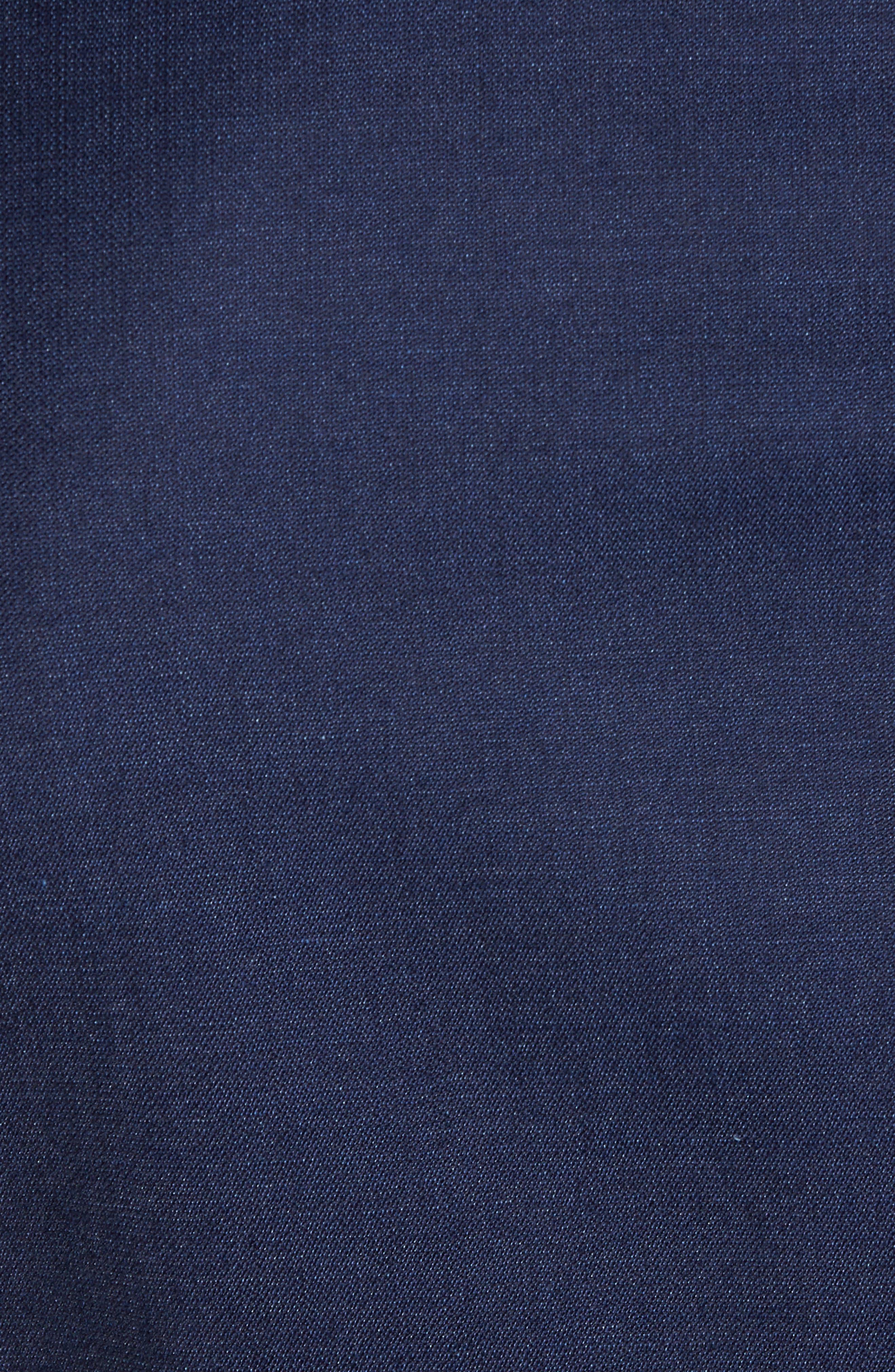 Jelvan/Livan Trim Fit Wool & Silk Tuxedo,                             Alternate thumbnail 7, color,                             Medium Blue