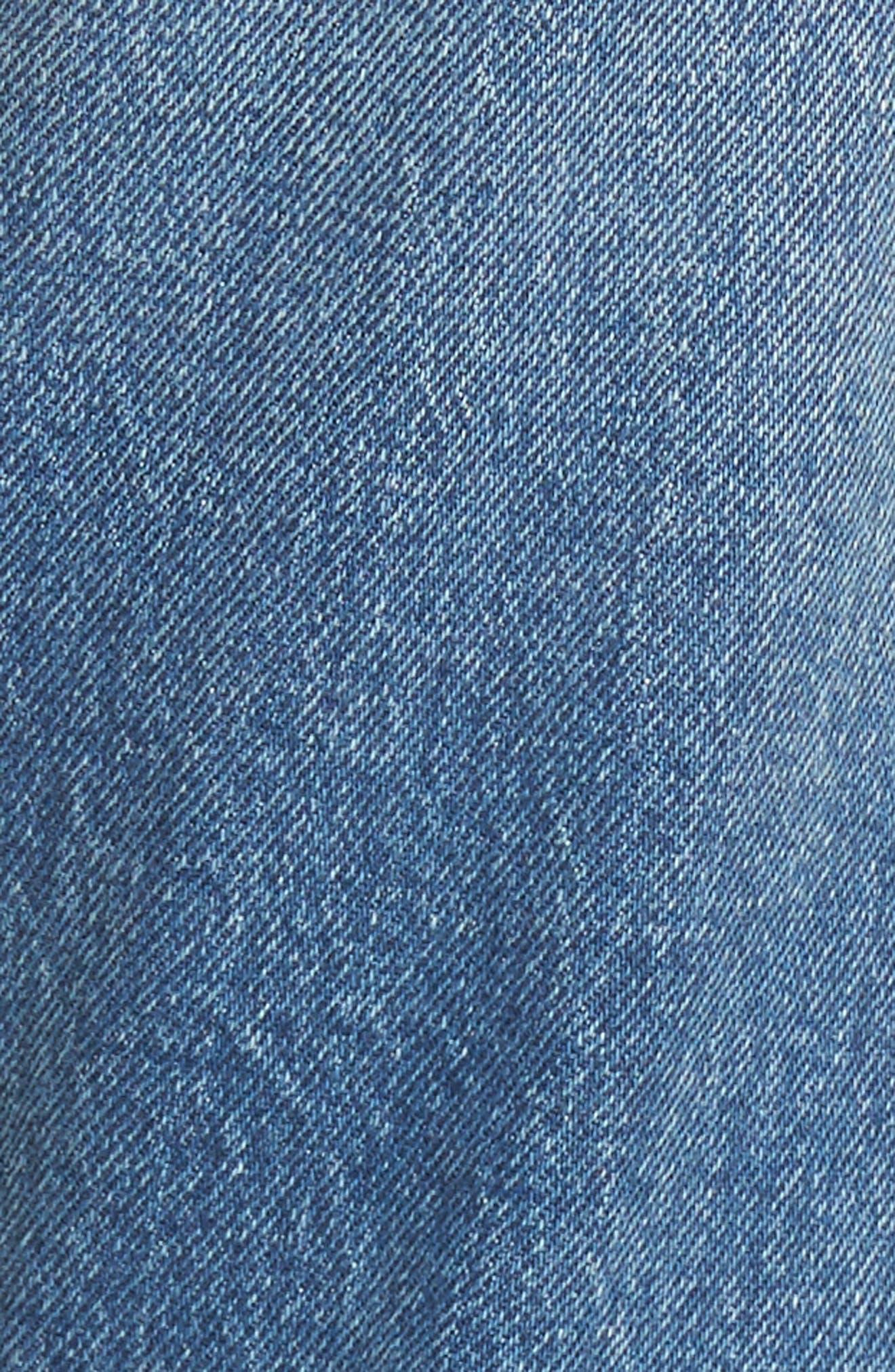 Alternate Image 5  - Levi's® 501 High Waist Skinny Jeans (Leave a Trace)