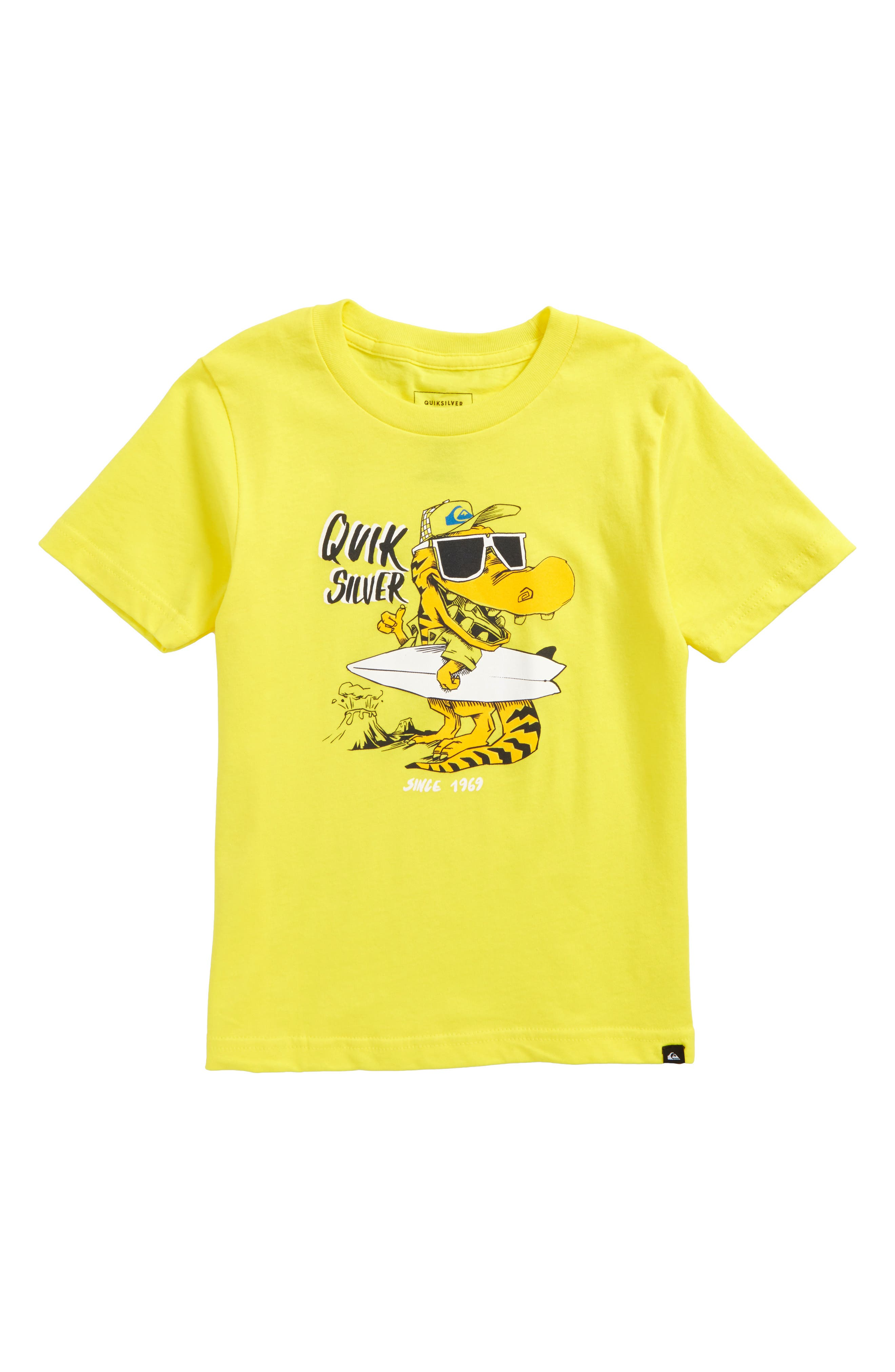 Quiksilver From Old Times Graphic T-Shirt (Toddler Boys & Little Boys)