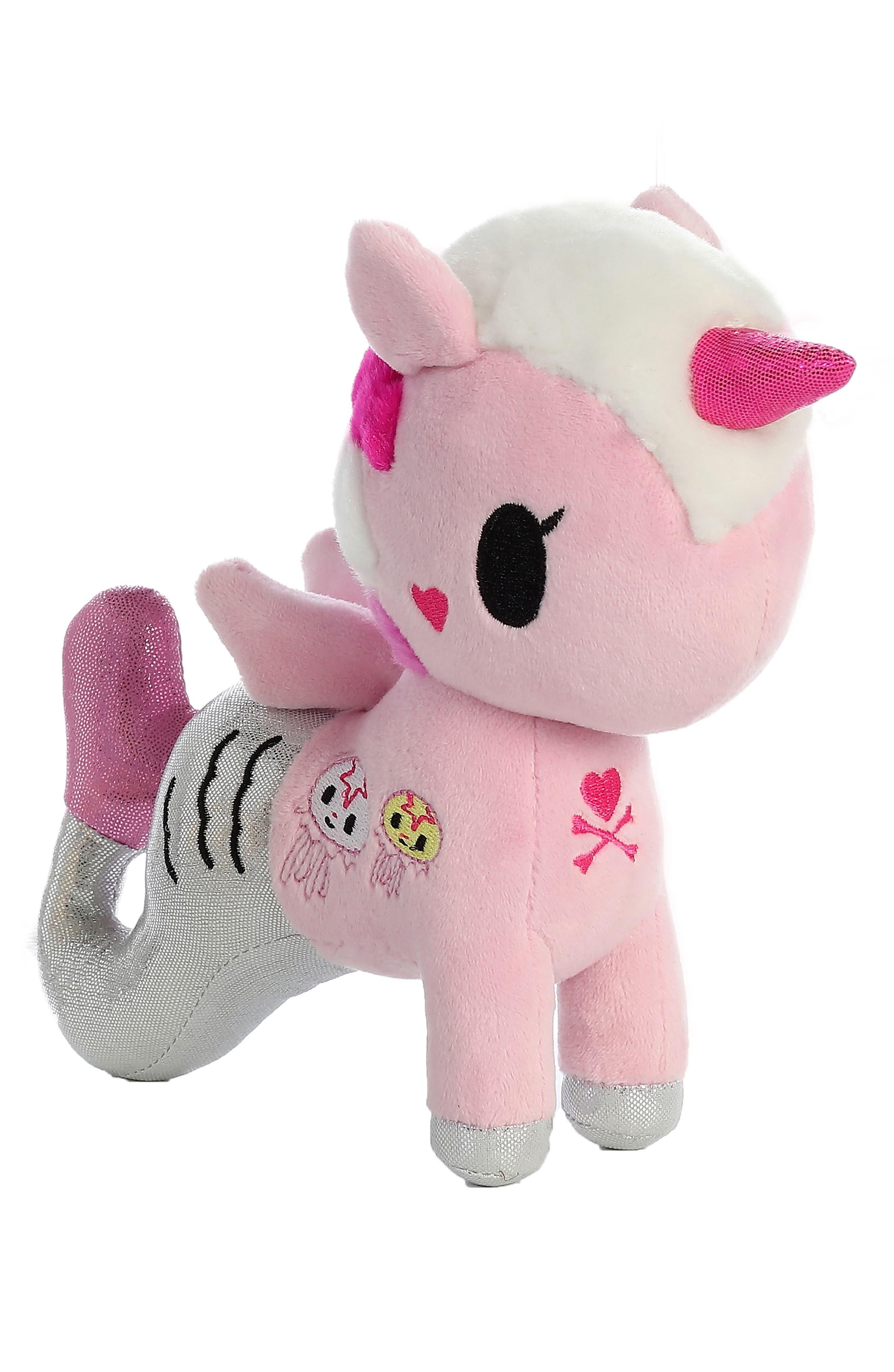 x tokidoki Gelatina Mermicorno Stuffed Animal,                             Main thumbnail 1, color,                             Pink