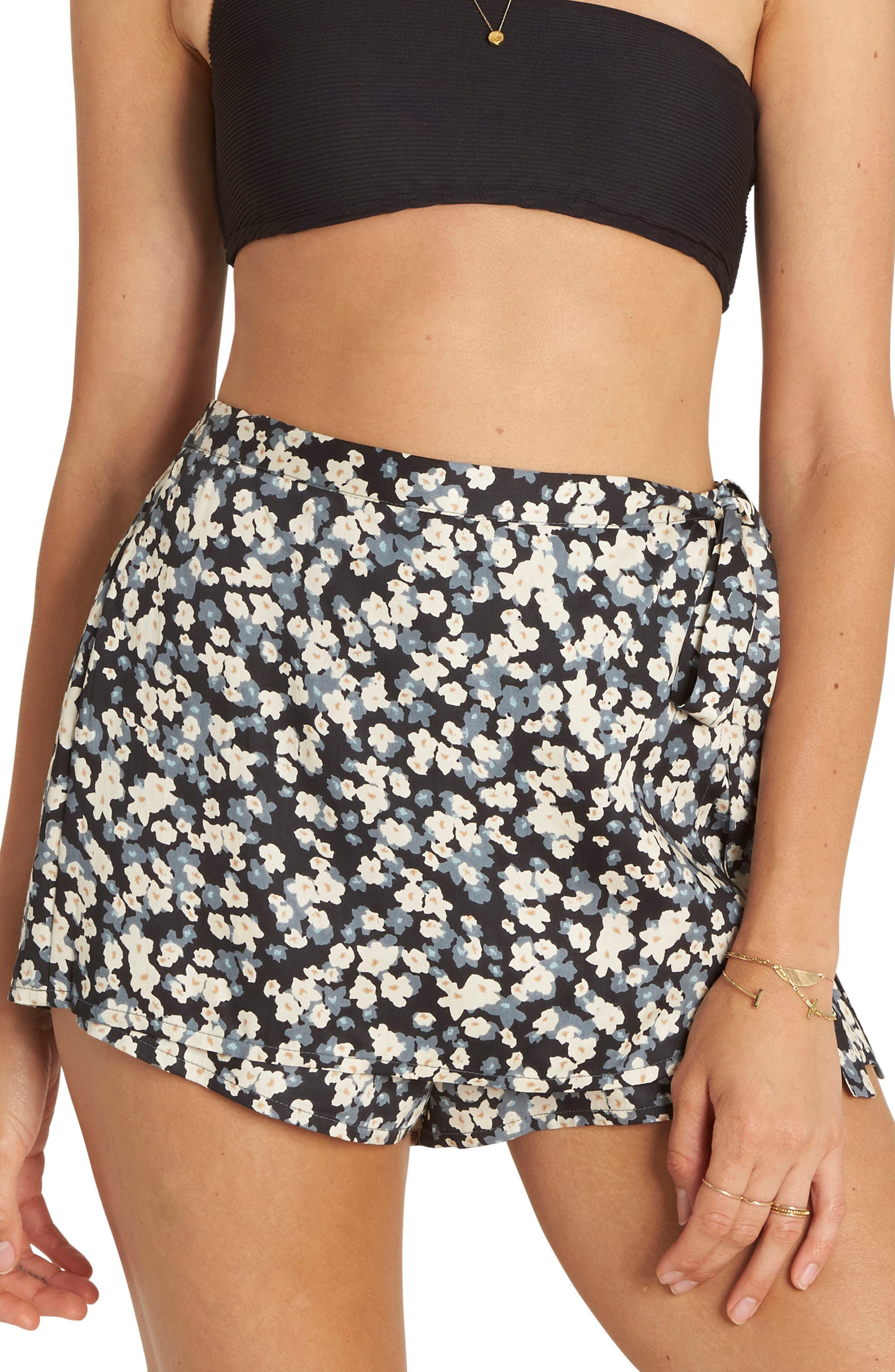 Alternate Image 1 Selected - Billabong Flirting Devil Skort