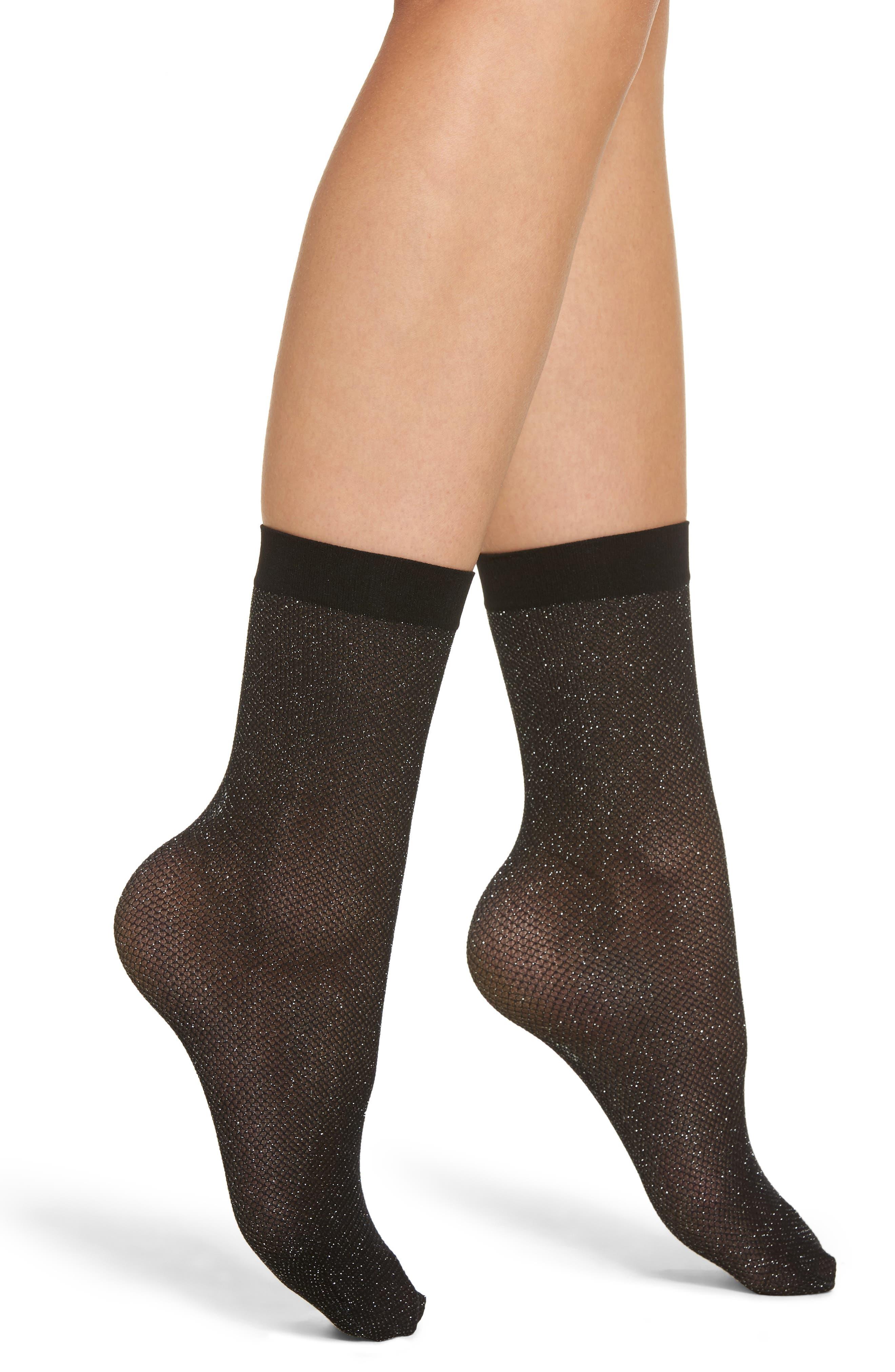Main Image - Wolford Metallic Trouser Socks