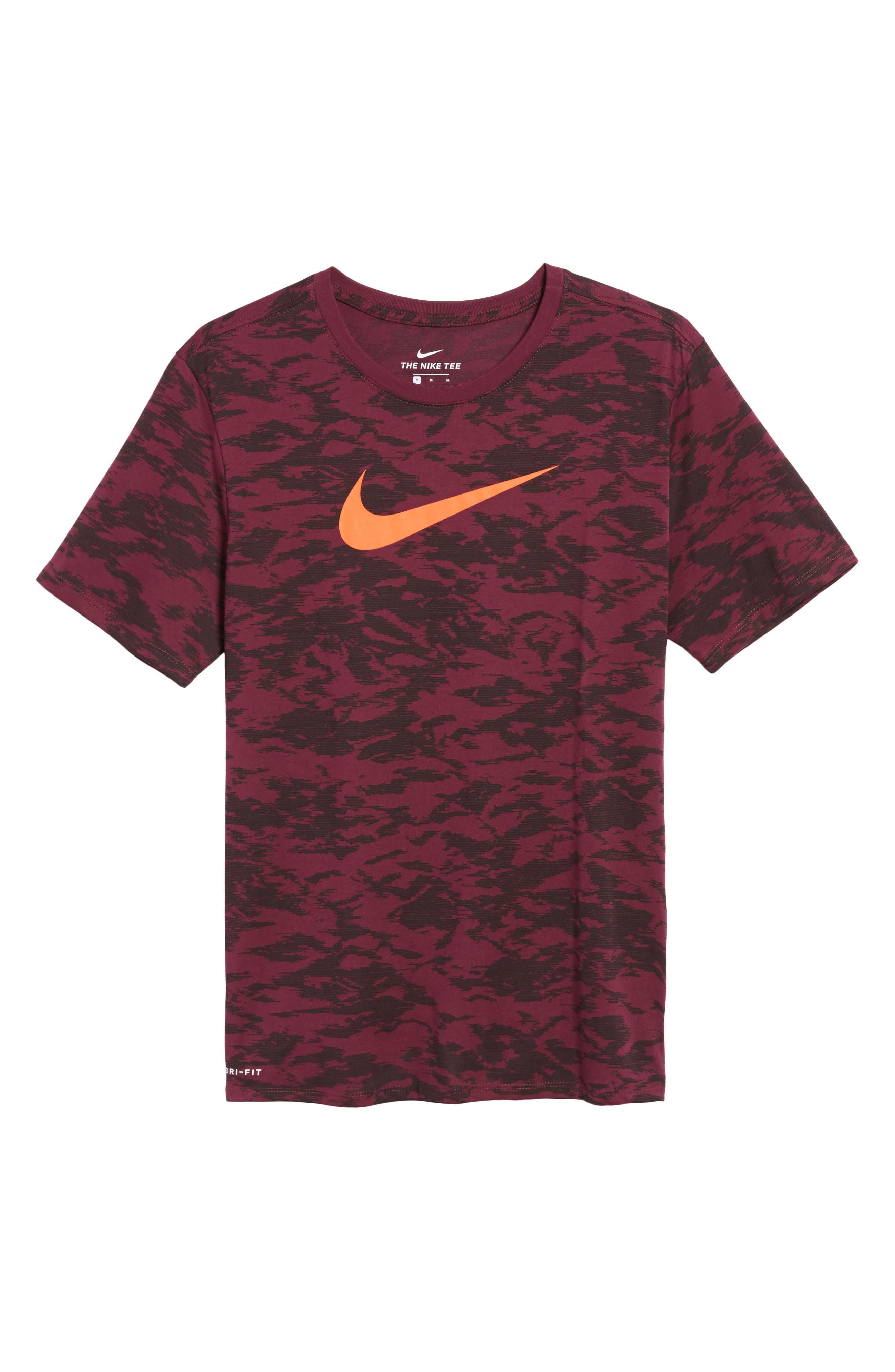 Alternate Image 6  - Nike Basketball Attack Logo T-Shirt