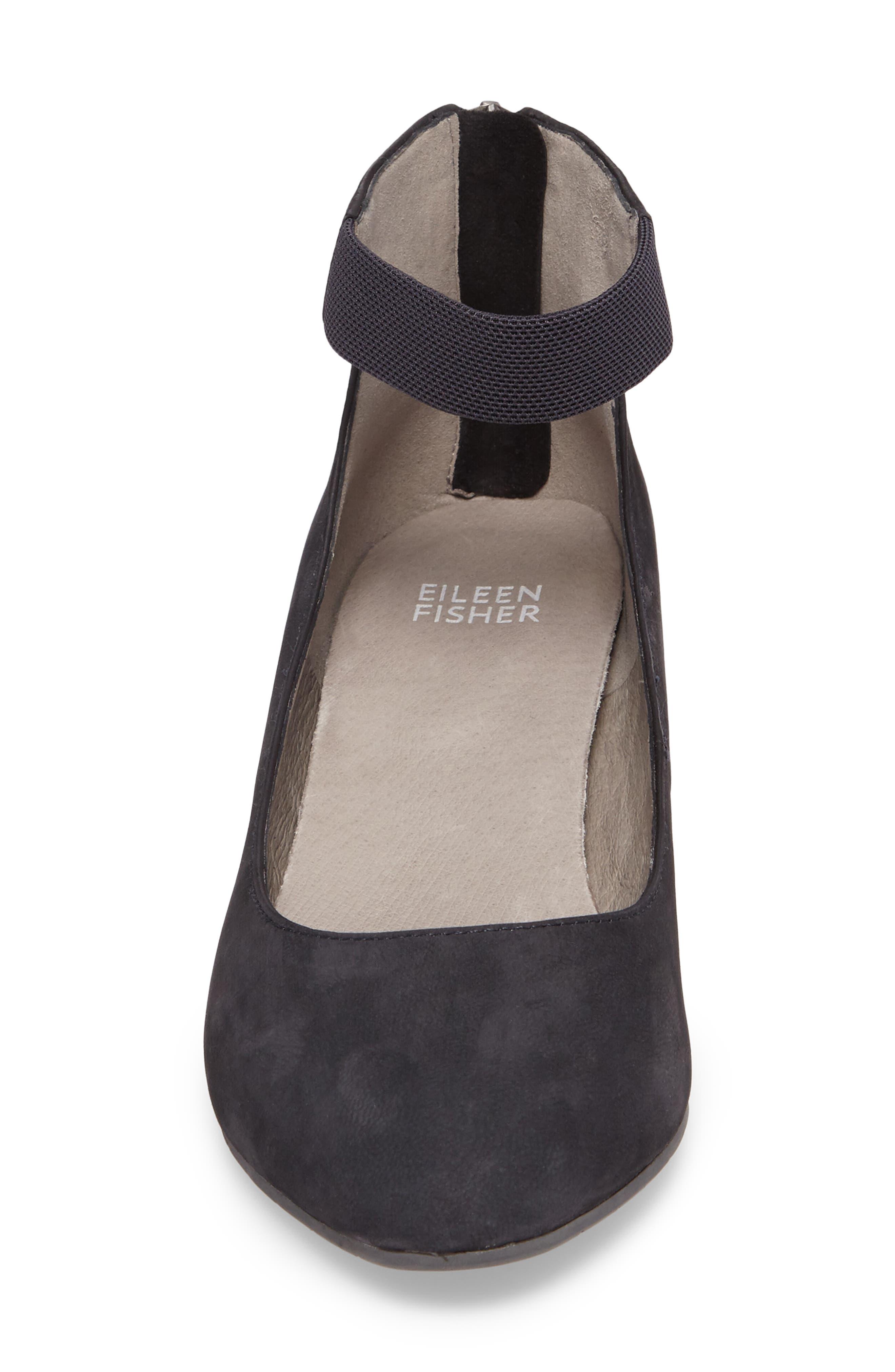 Alternate Image 5  - Eileen Fisher 'Liz' Ankle Strap Pump (Women)