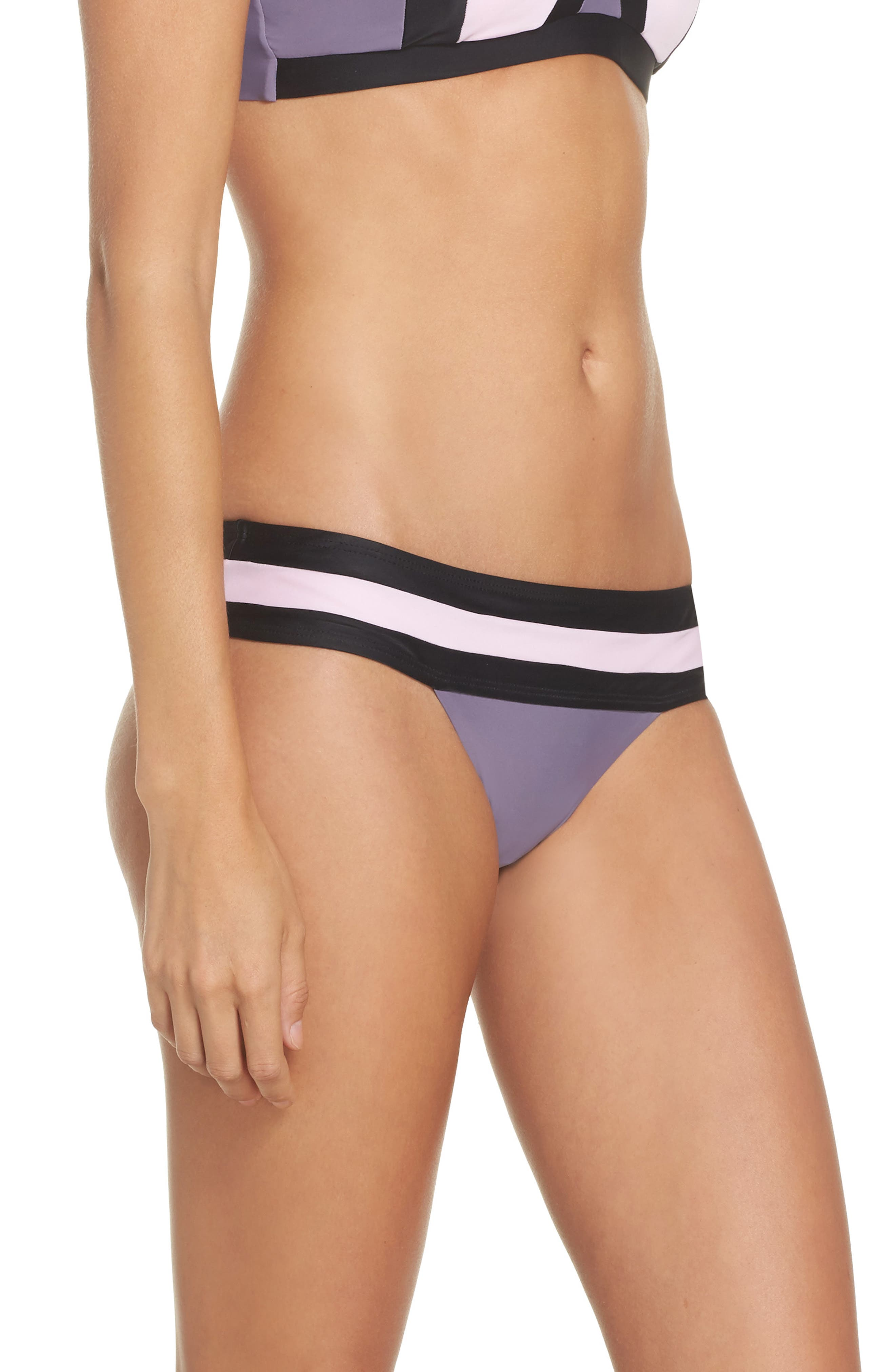 Alternate Image 3  - PilyQ Swimwear Bikini Bottoms