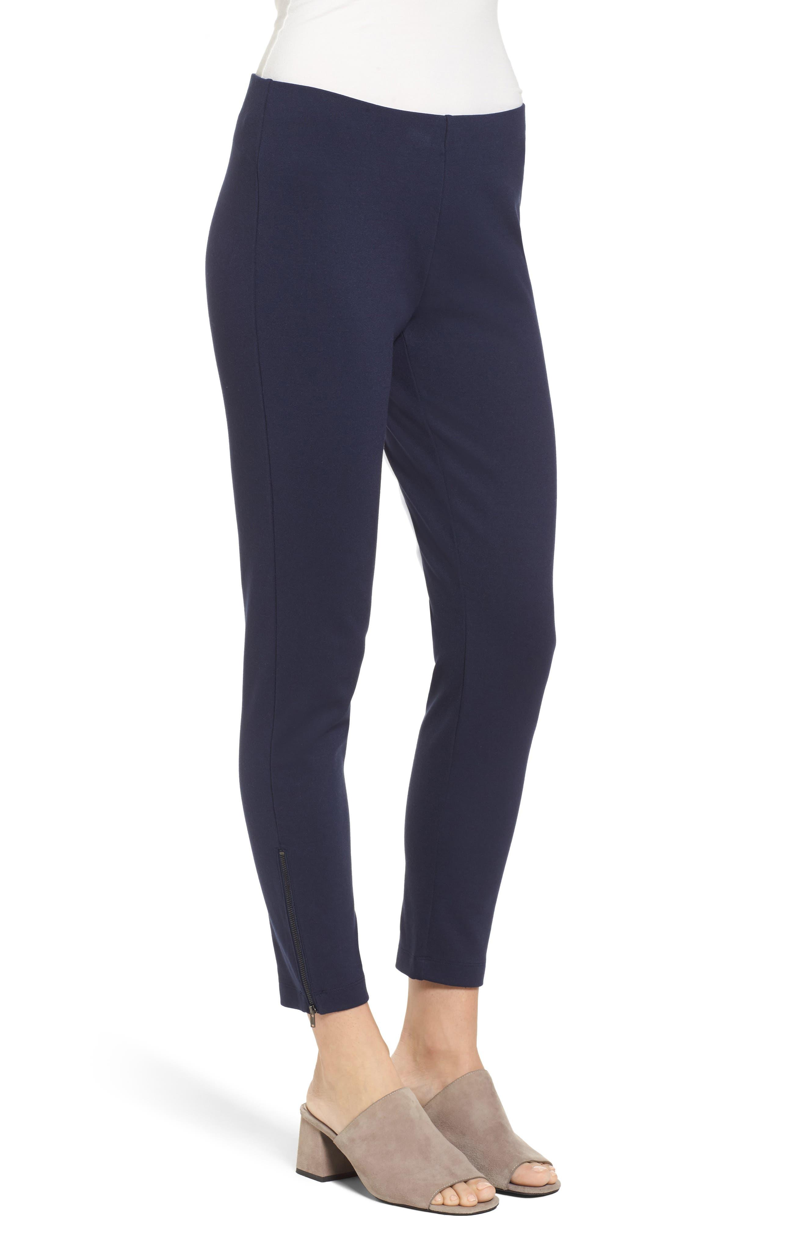 Alternate Image 3  - Eileen Fisher Slim Crop Pants
