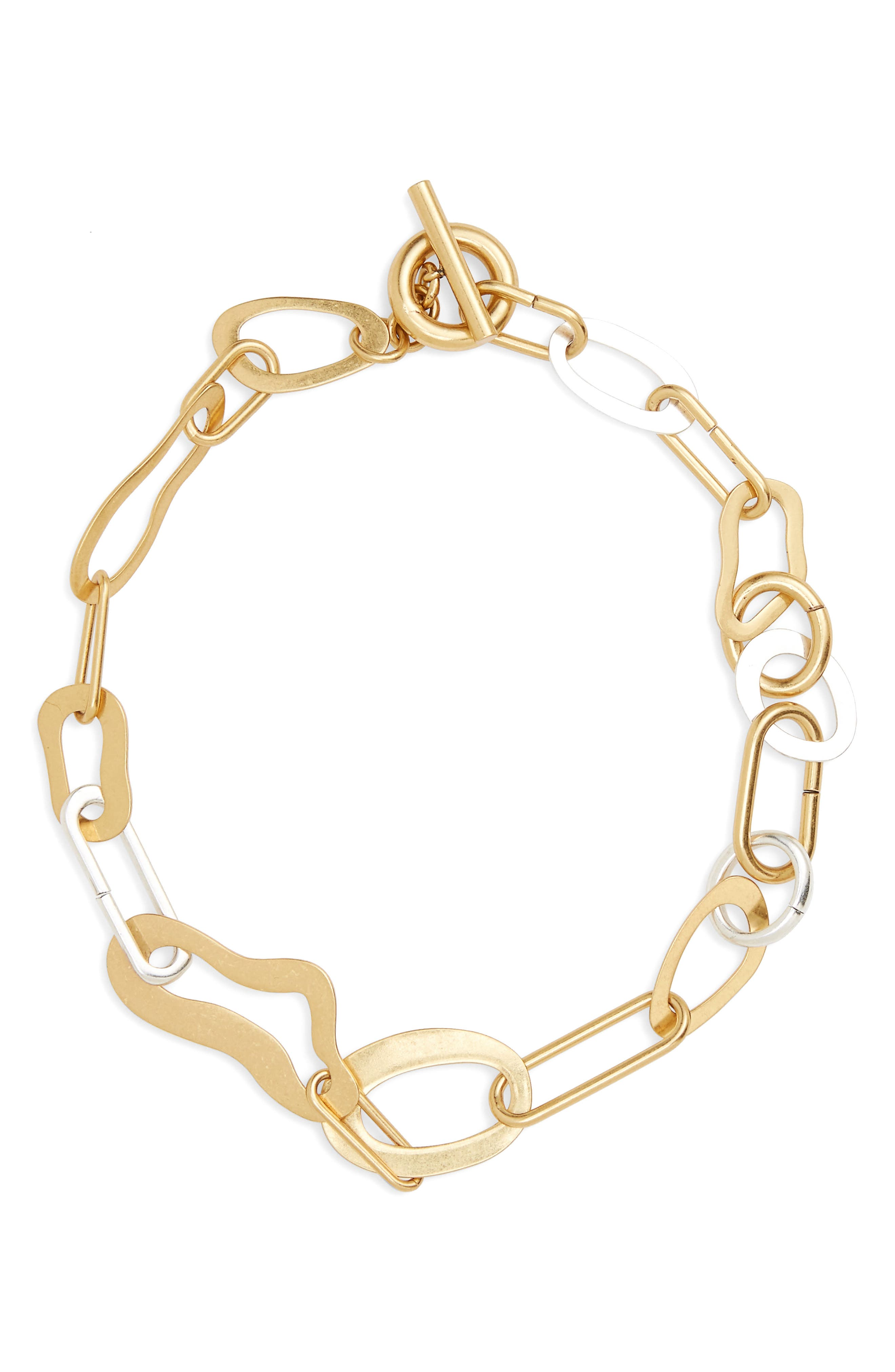 Main Image - Madewell Abstract Link Necklace