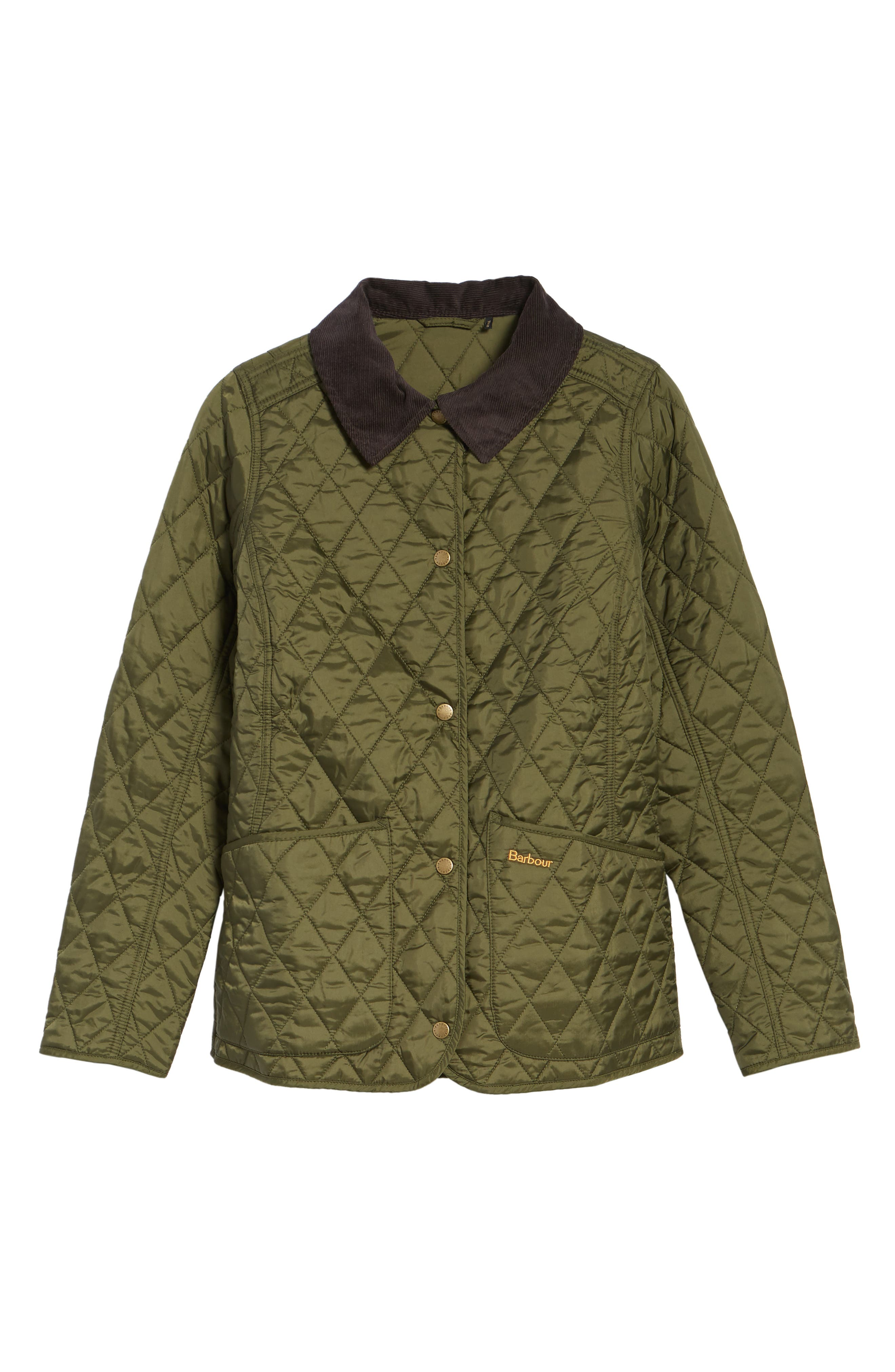 Annandale Quilted Jacket,                         Main,                         color, Olive
