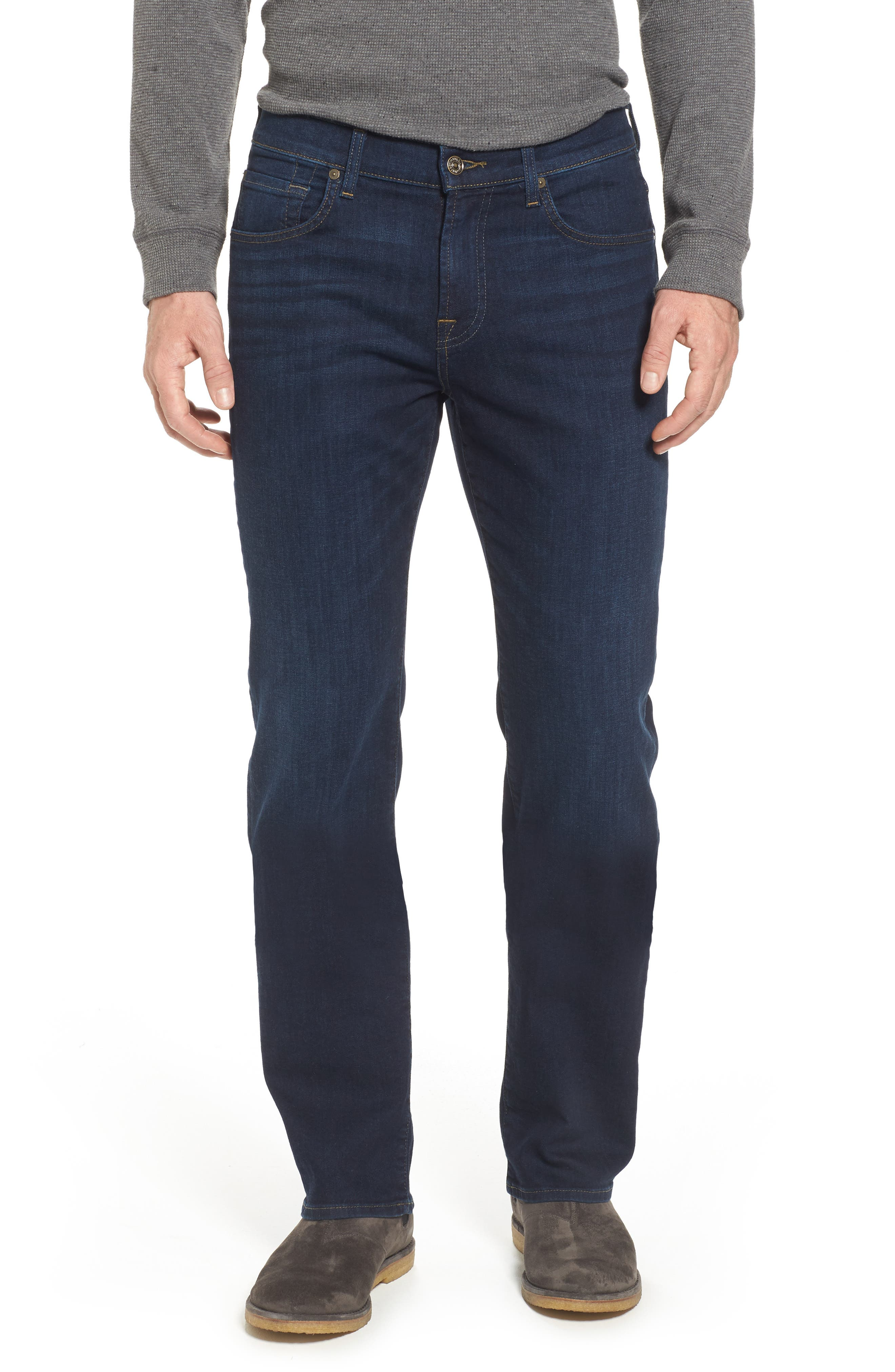 Alternate Image 1 Selected - 7 For All Mankind® Austyn Relaxed Fit Jeans (After Hours)