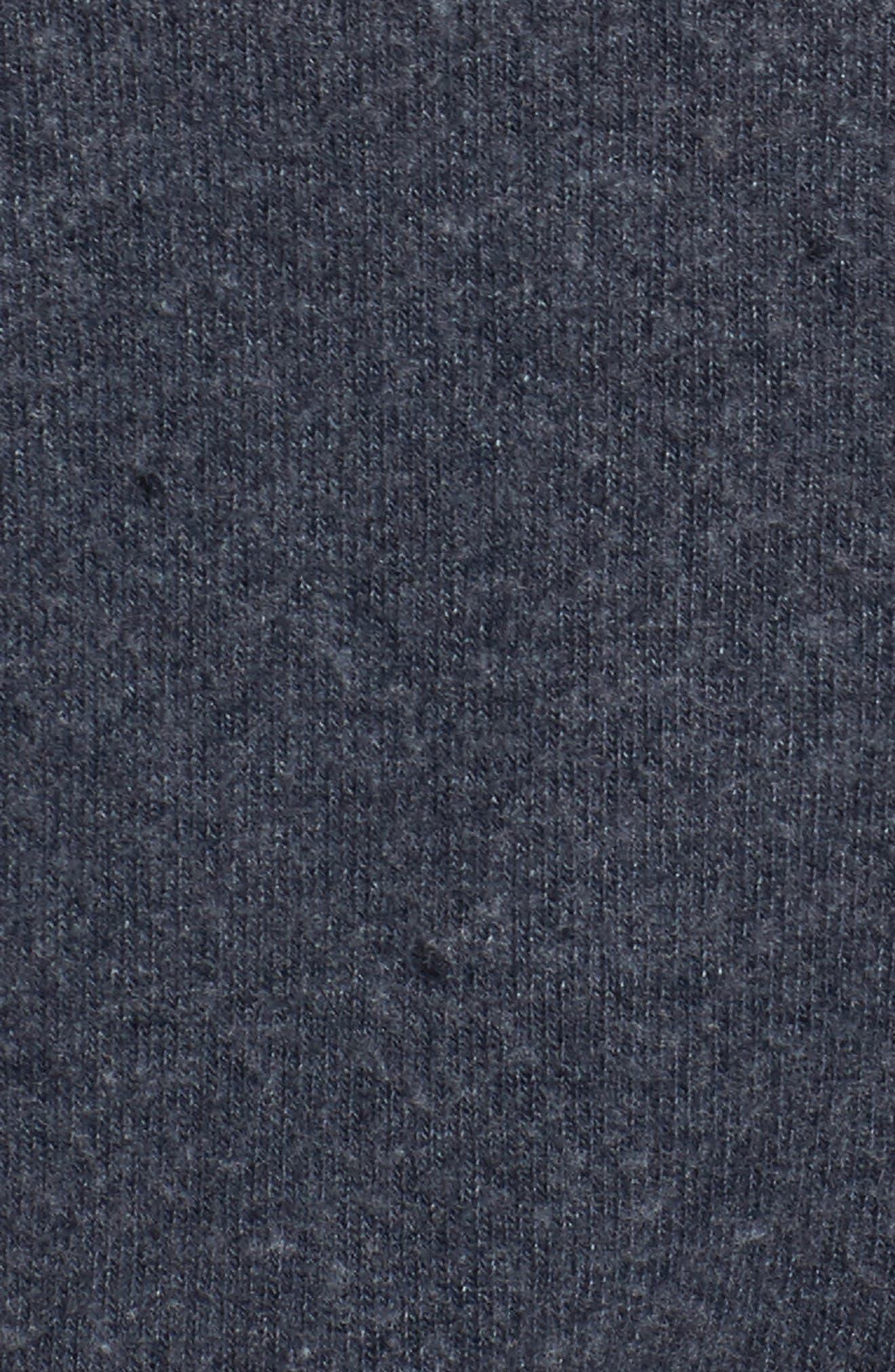 Lazy Weekend Love Knit Sweatshirt,                             Alternate thumbnail 6, color,                             Avalon