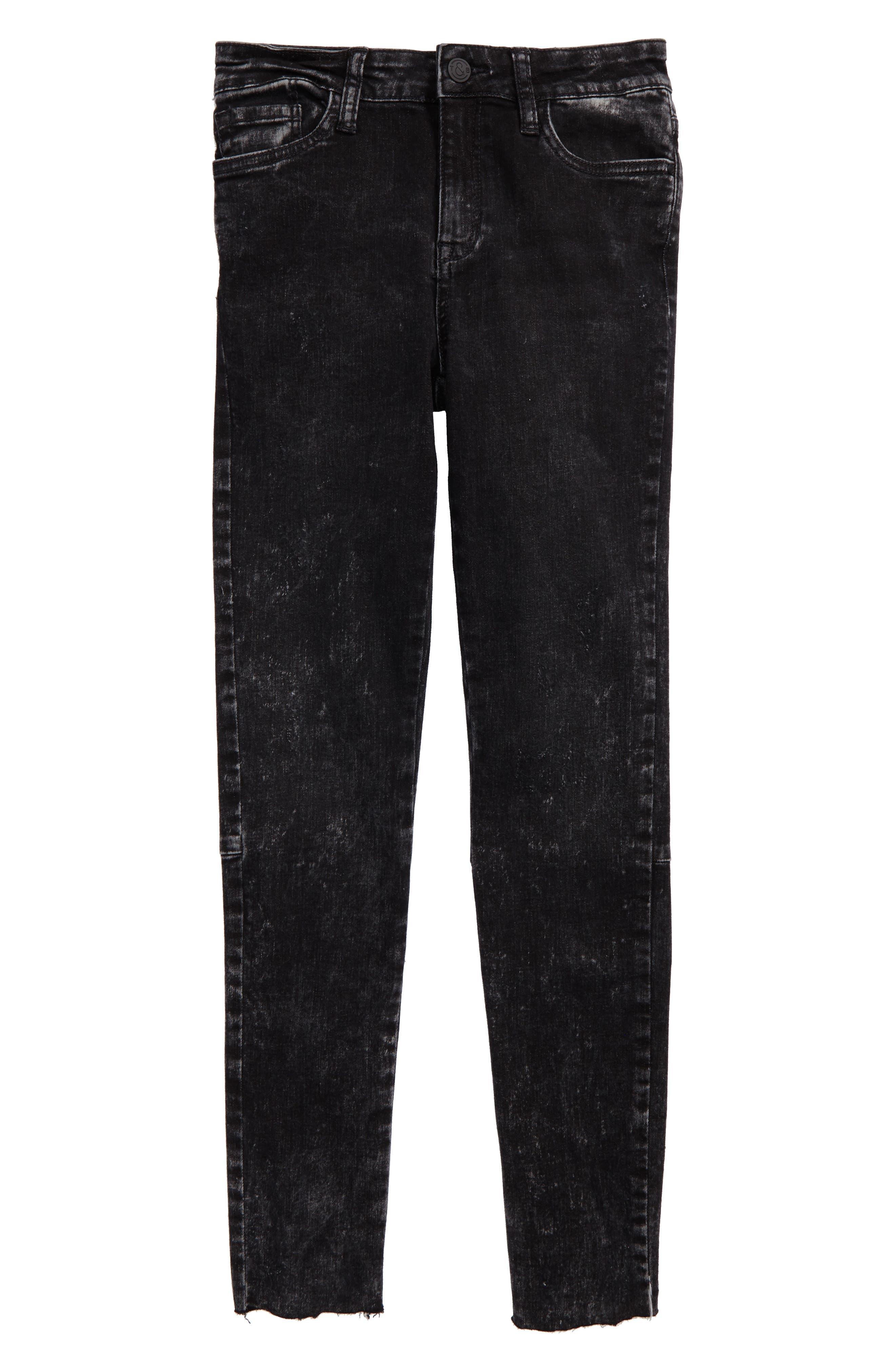 Treasure & Bond Acid Wash Skinny Jeans (Big Girls)