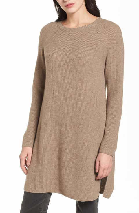 Women's Cashmere Tunic Sweaters | Nordstrom