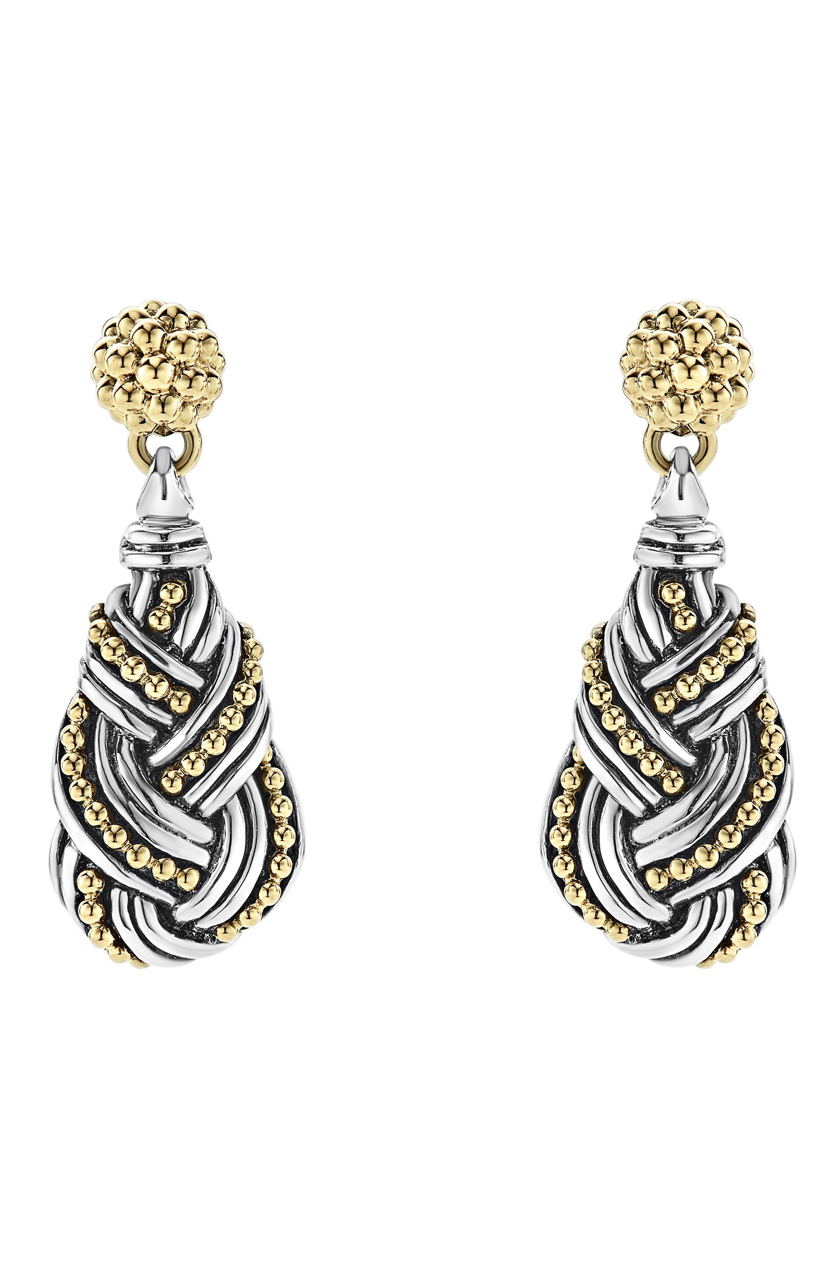 LAGOS Torsade Drop Earrings