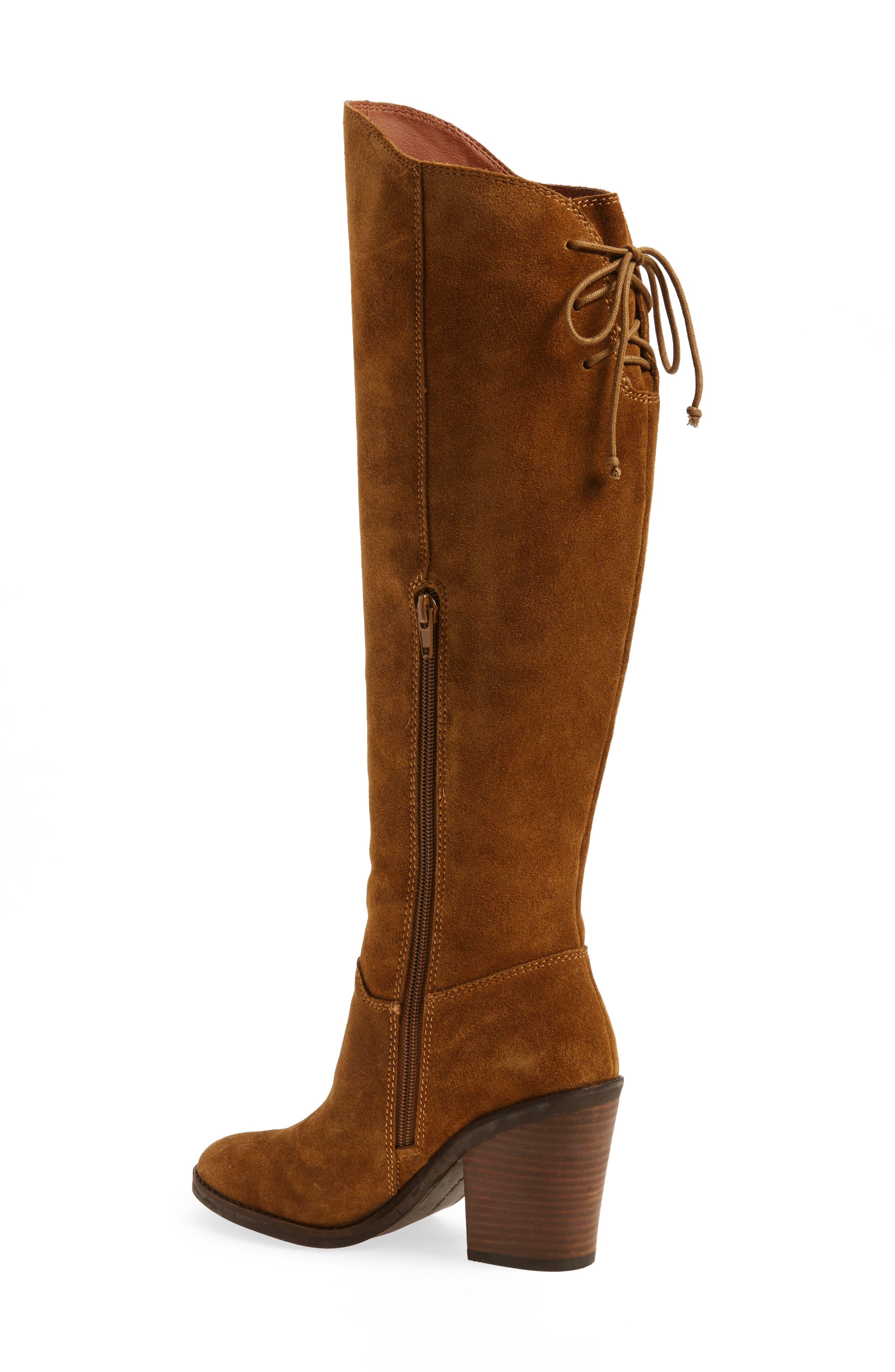 Alternate Image 2  - Lucky Brand Pembe Asymmetrical Boot (Women)