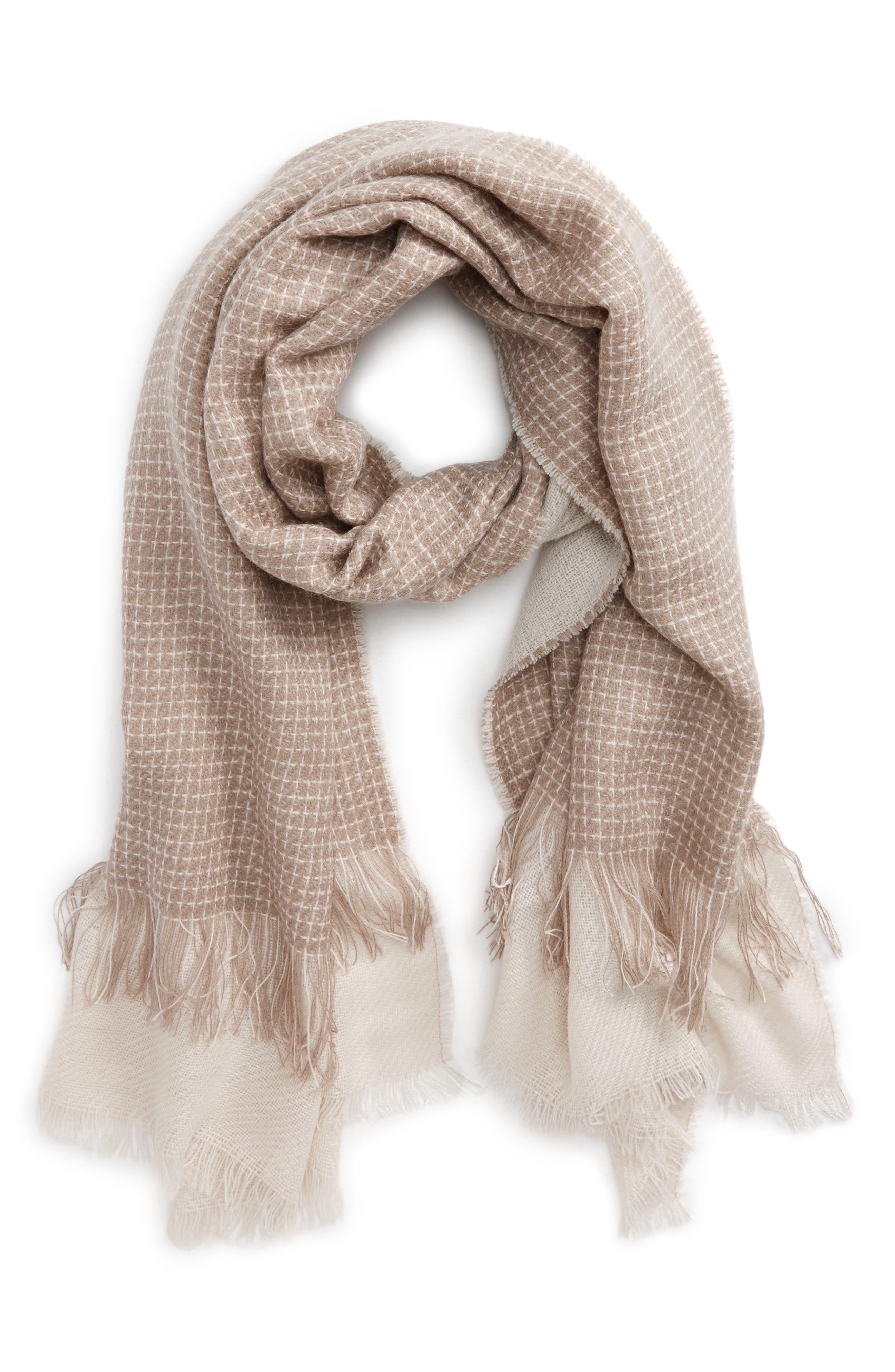 BP. Layered Oblong Scarf