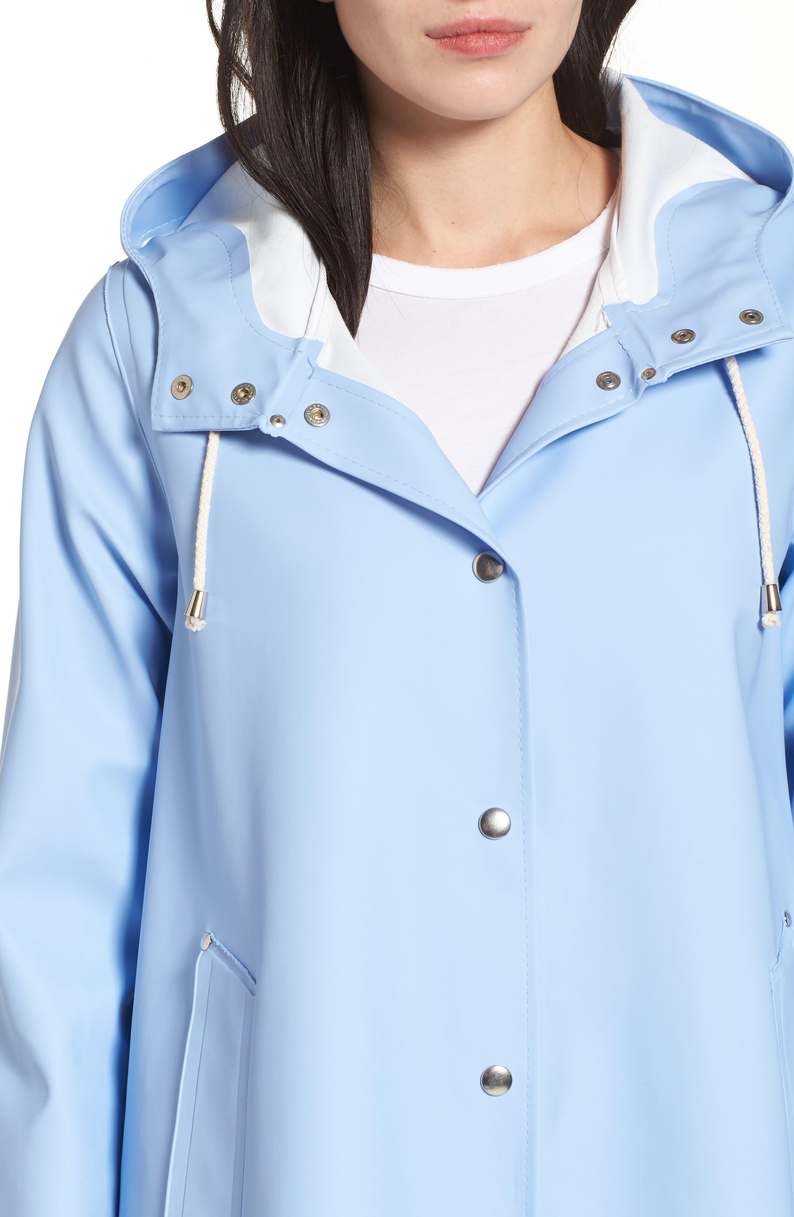 Alternate Image 4  - Stutterheim Mosebacke Waterproof A-Line Hooded Raincoat