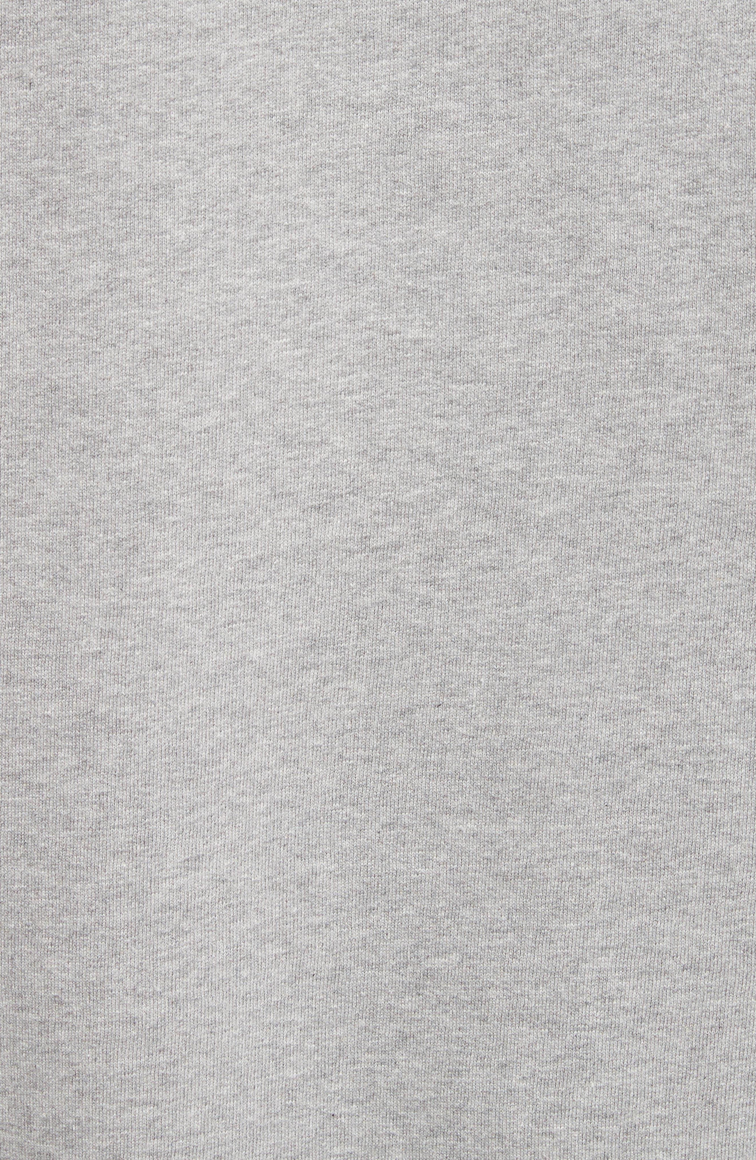 Alternate Image 5  - Burberry Kupa Ruffle Sleeve Sweatshirt
