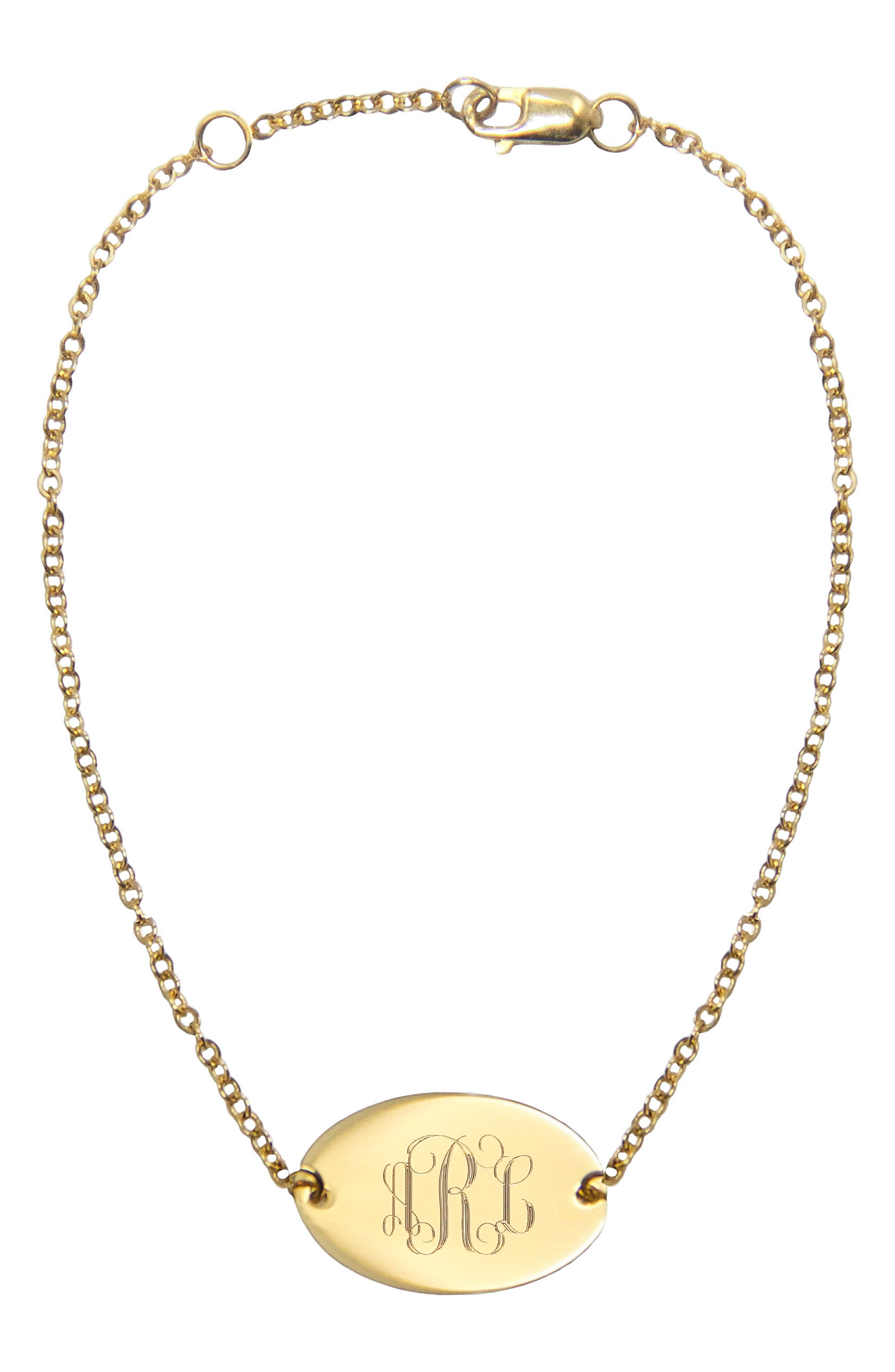 Jane Basch Monogram Bracelet