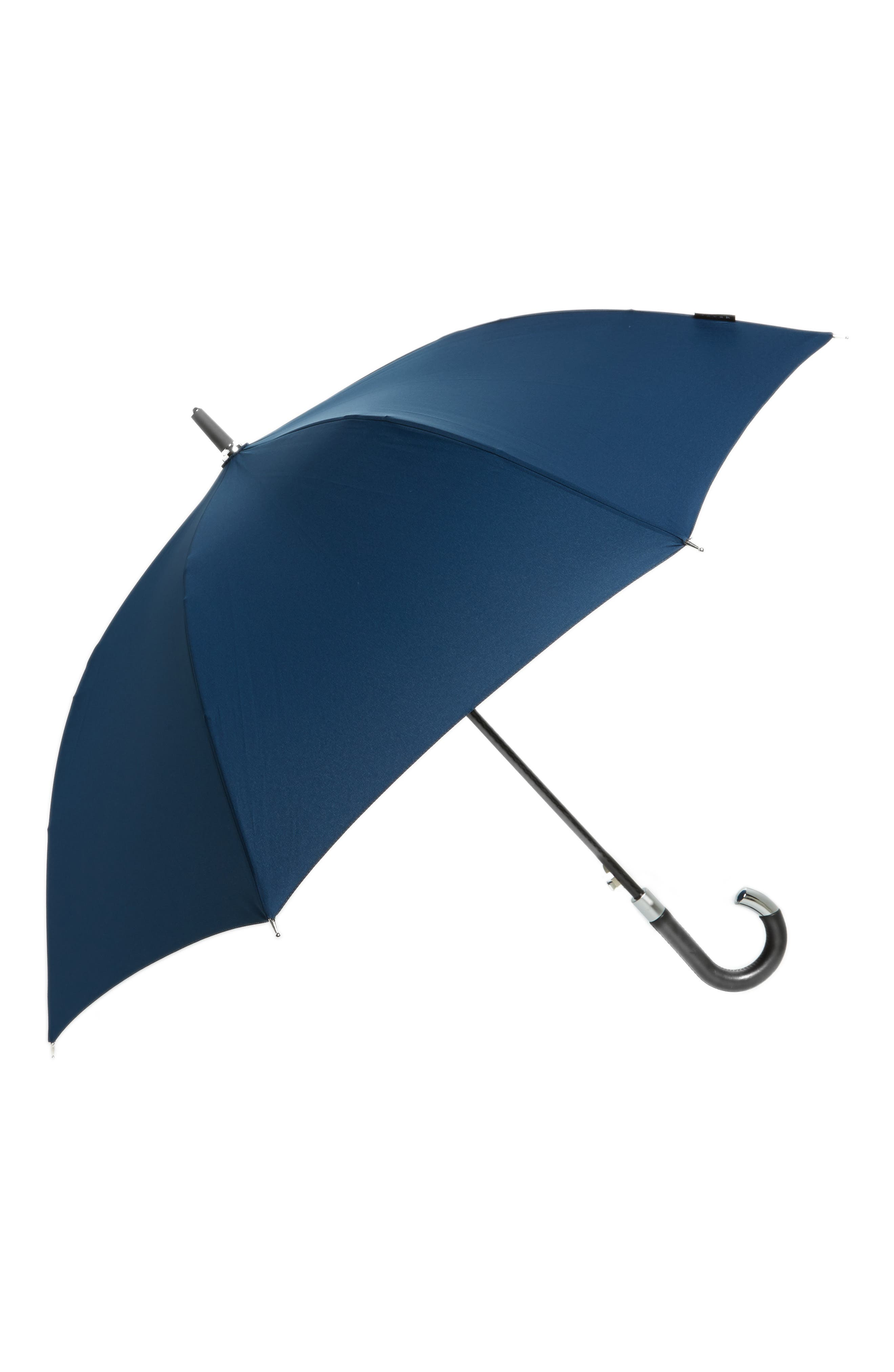 Elite Cane Umbrella,                         Main,                         color, Navy Blue