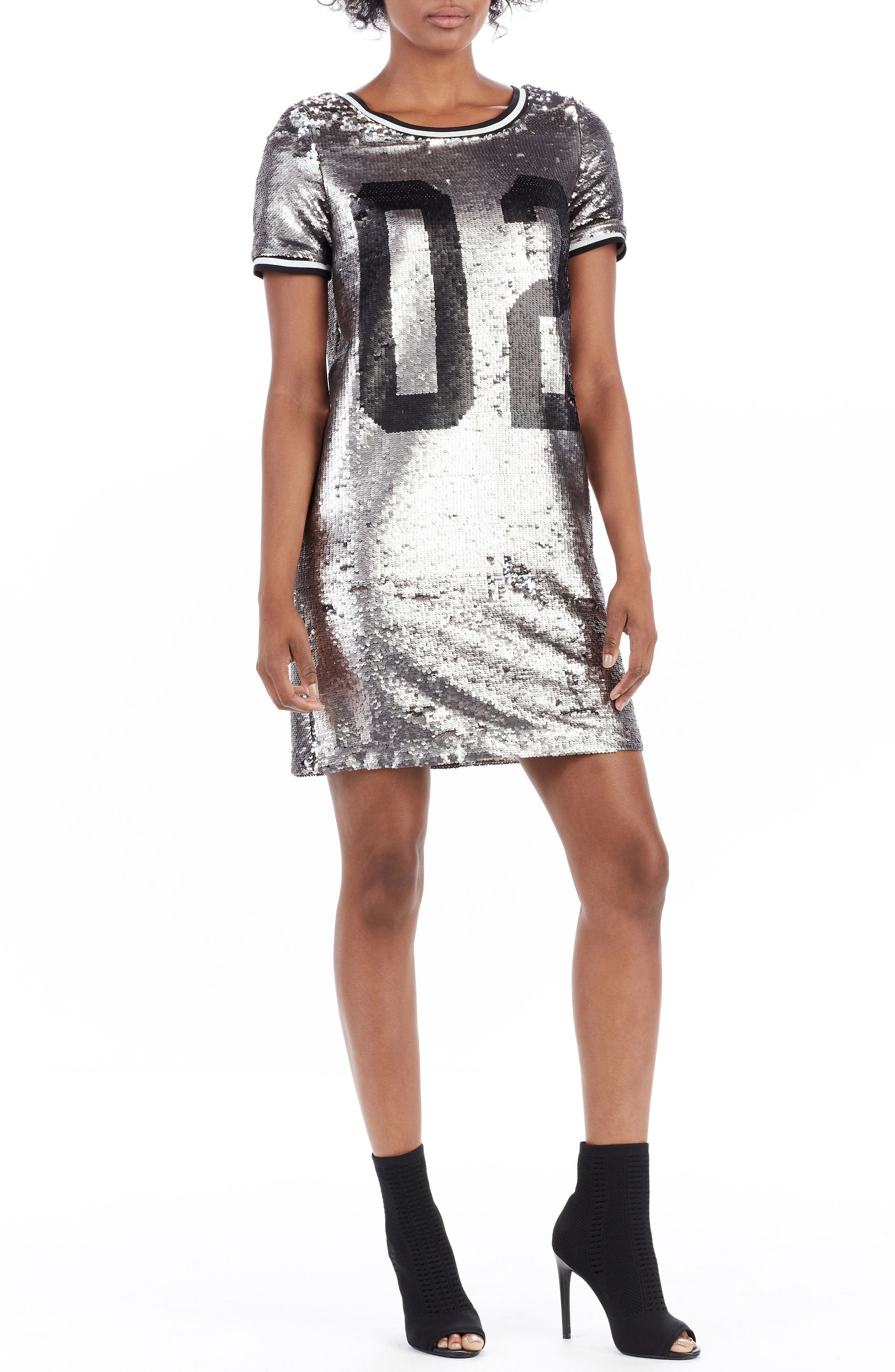 Alternate Image 2  - True Religion Brand Jeans Sequin Dress