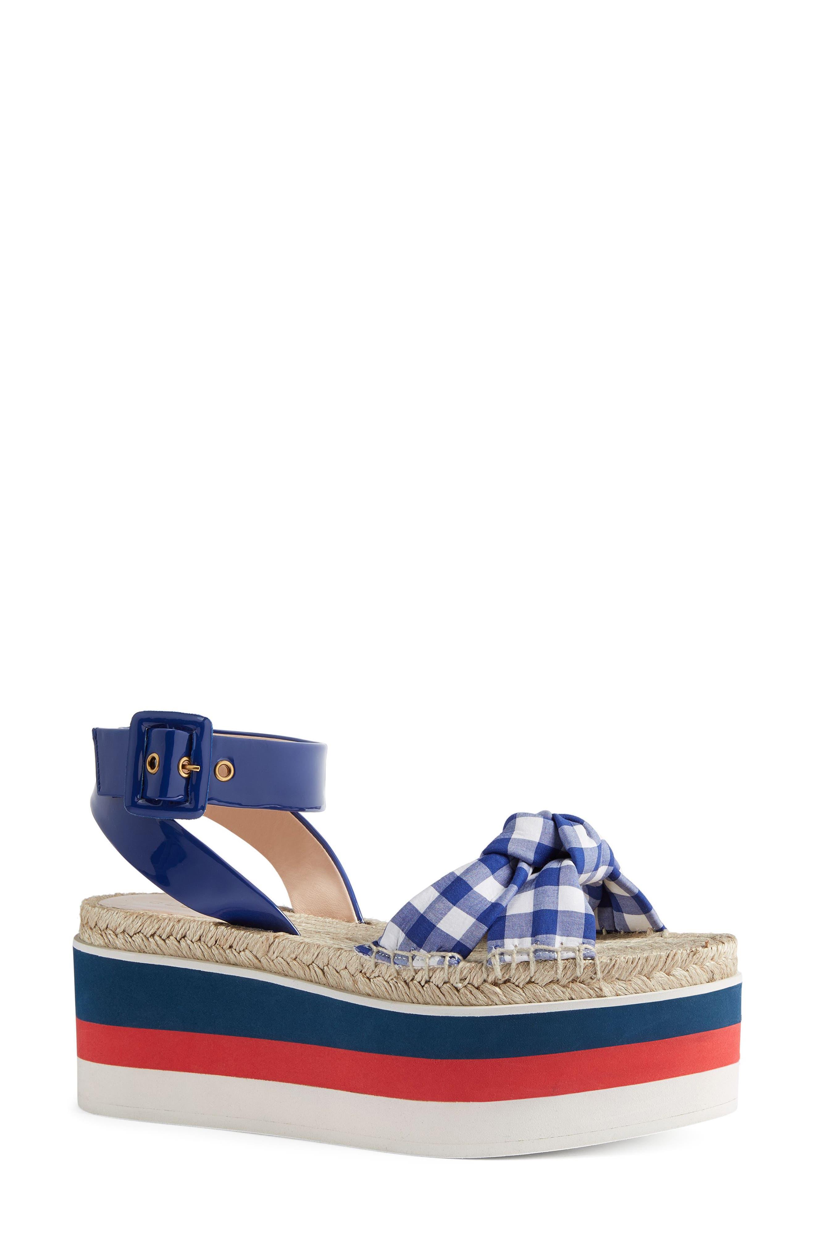 Gucci Sefir Flatform Sandal (Women)