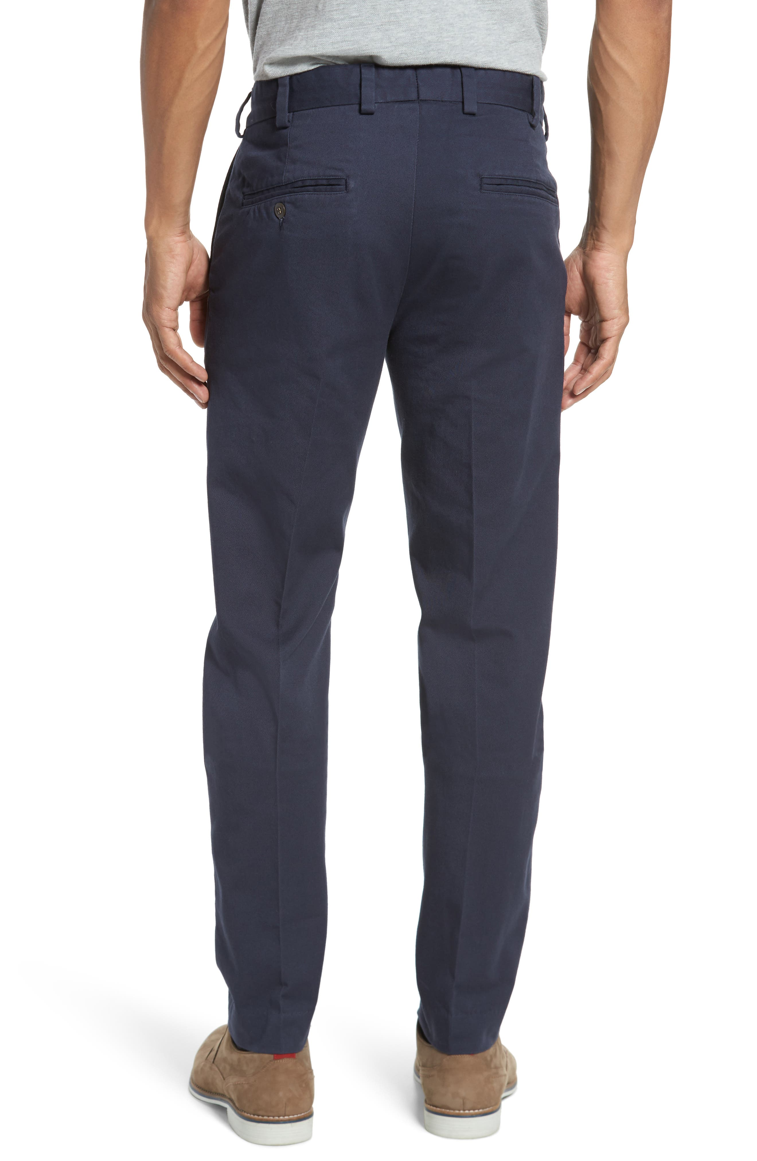 Slim Fit Original Twill Pants,                             Alternate thumbnail 2, color,                             Navy