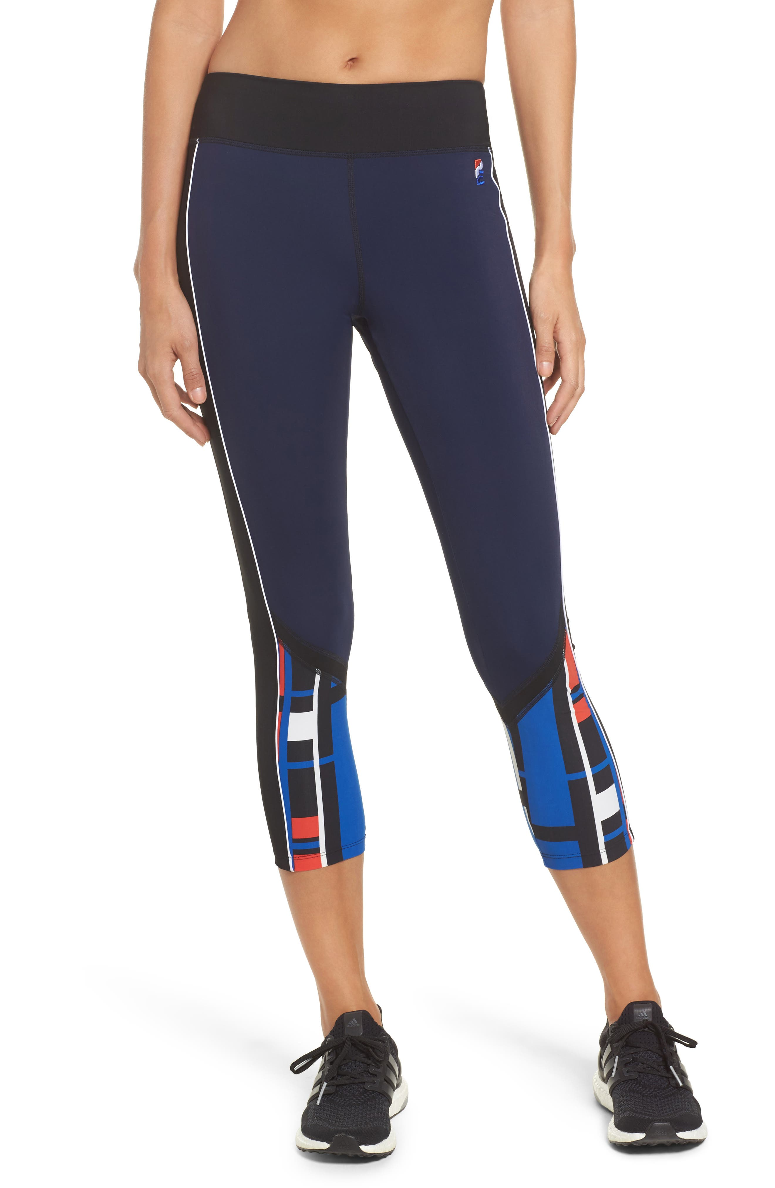 Alternate Image 1 Selected - P.E Nation The Bowl Out Crop Leggings
