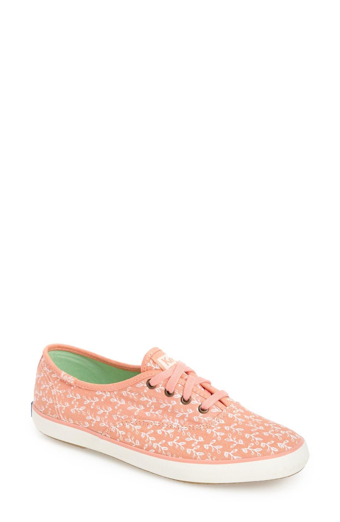Alternate Image 1 Selected - Keds® 'Champion - Botanical' Sneaker (Women)