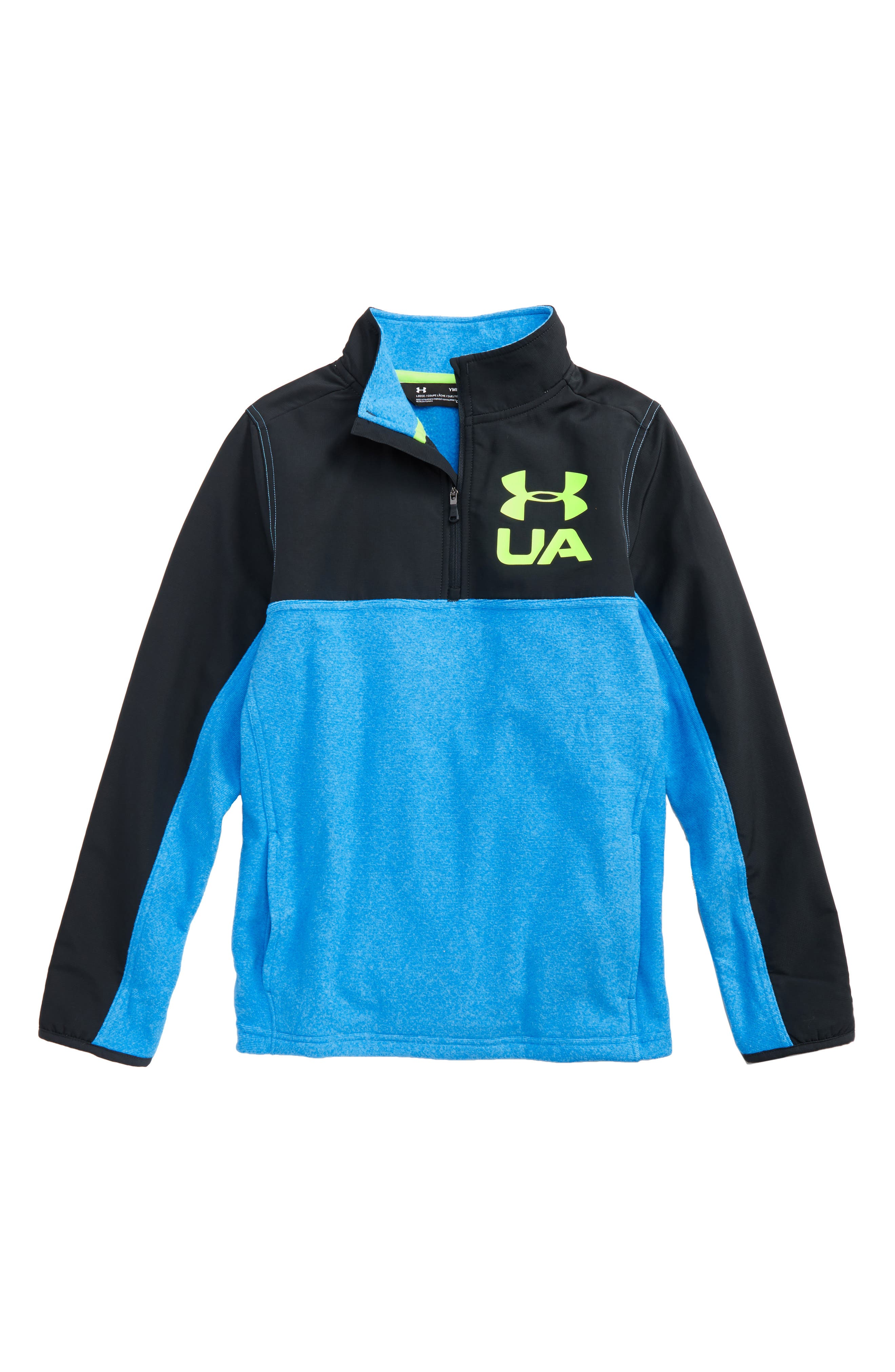 Alternate Image 1 Selected - Under Armour Phenom ColdGear® Quarter Zip Pullover (Big Boys)