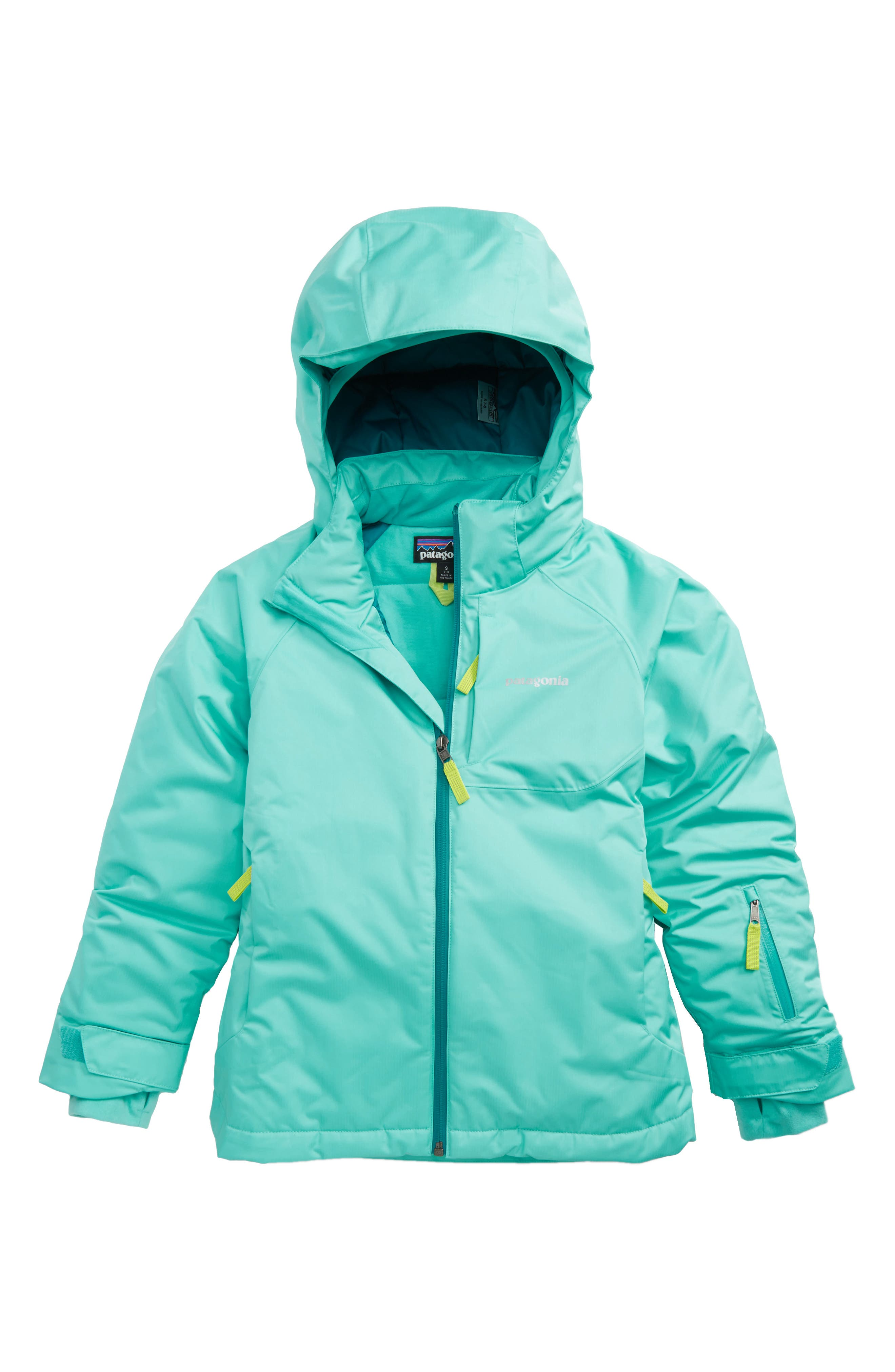 Snowbelle Waterproof Insulated Jacket,                         Main,                         color, Strait Blue