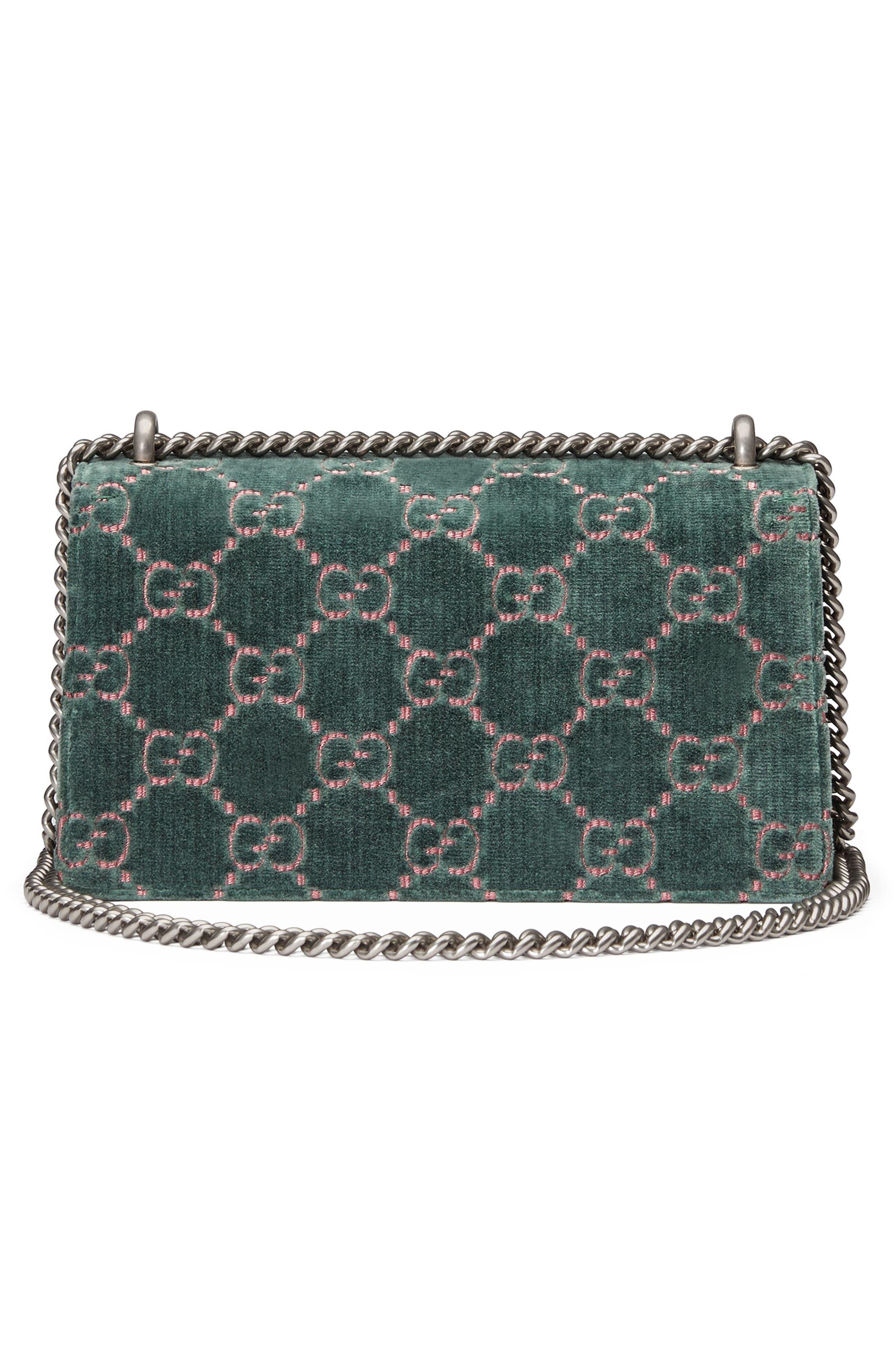 Alternate Image 3  - Gucci Small Dionysus GG Velvet Shoulder Bag