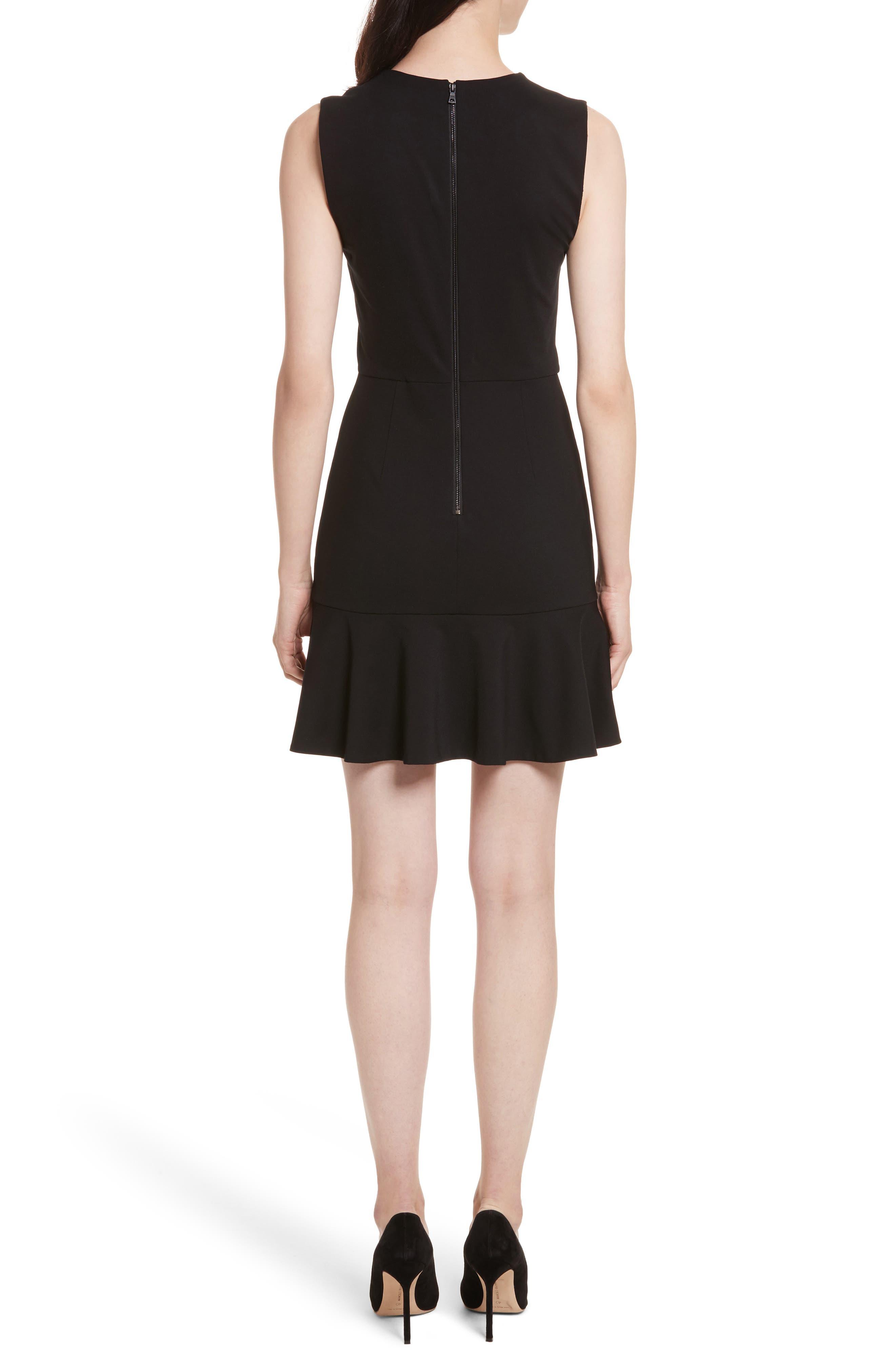 Alternate Image 2  - Alice + Olivia Onella V-Neck Dress