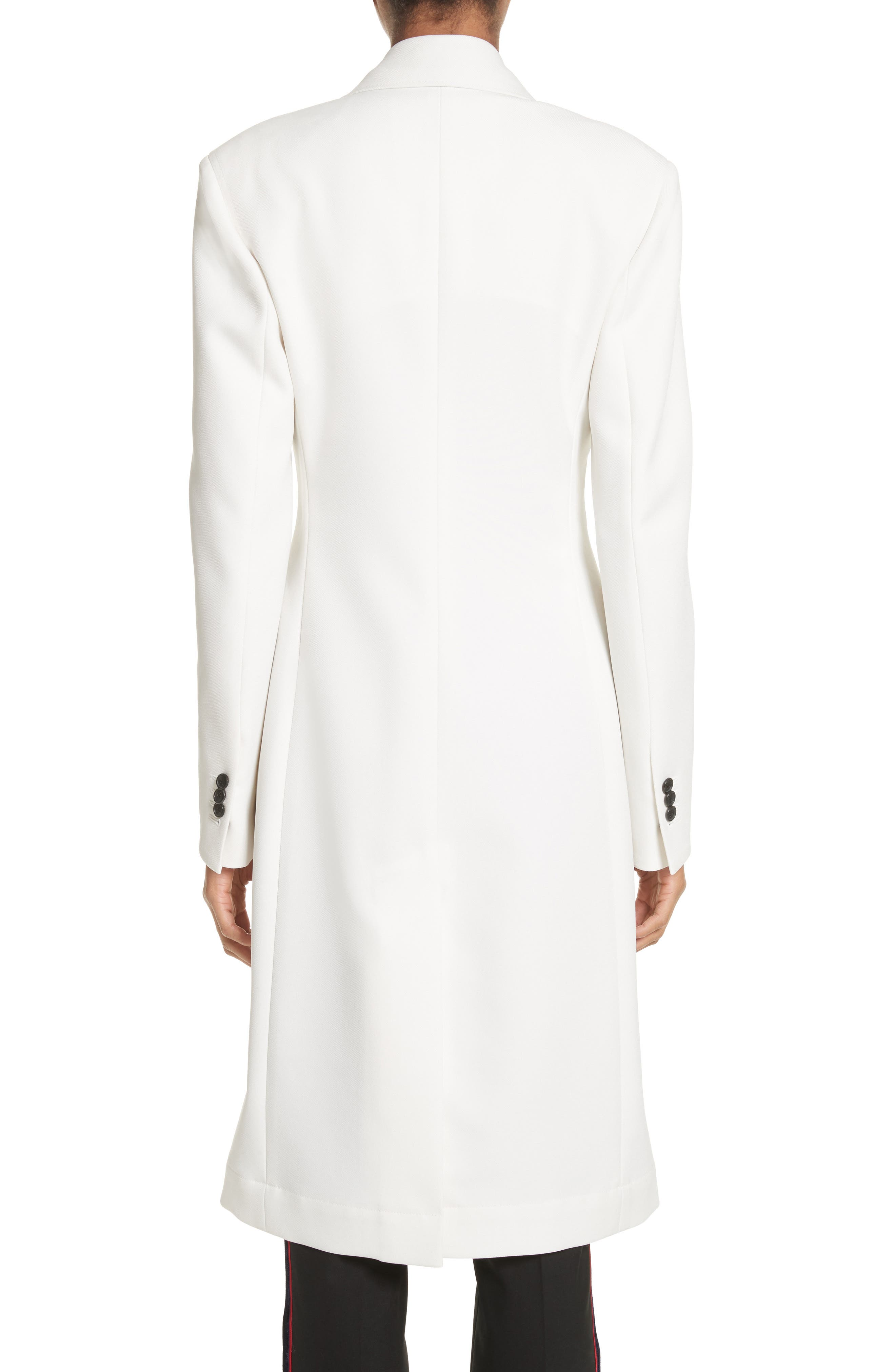 Alternate Image 3  - CALVIN KLEIN 205W39NYC Uniform Stripe Coat