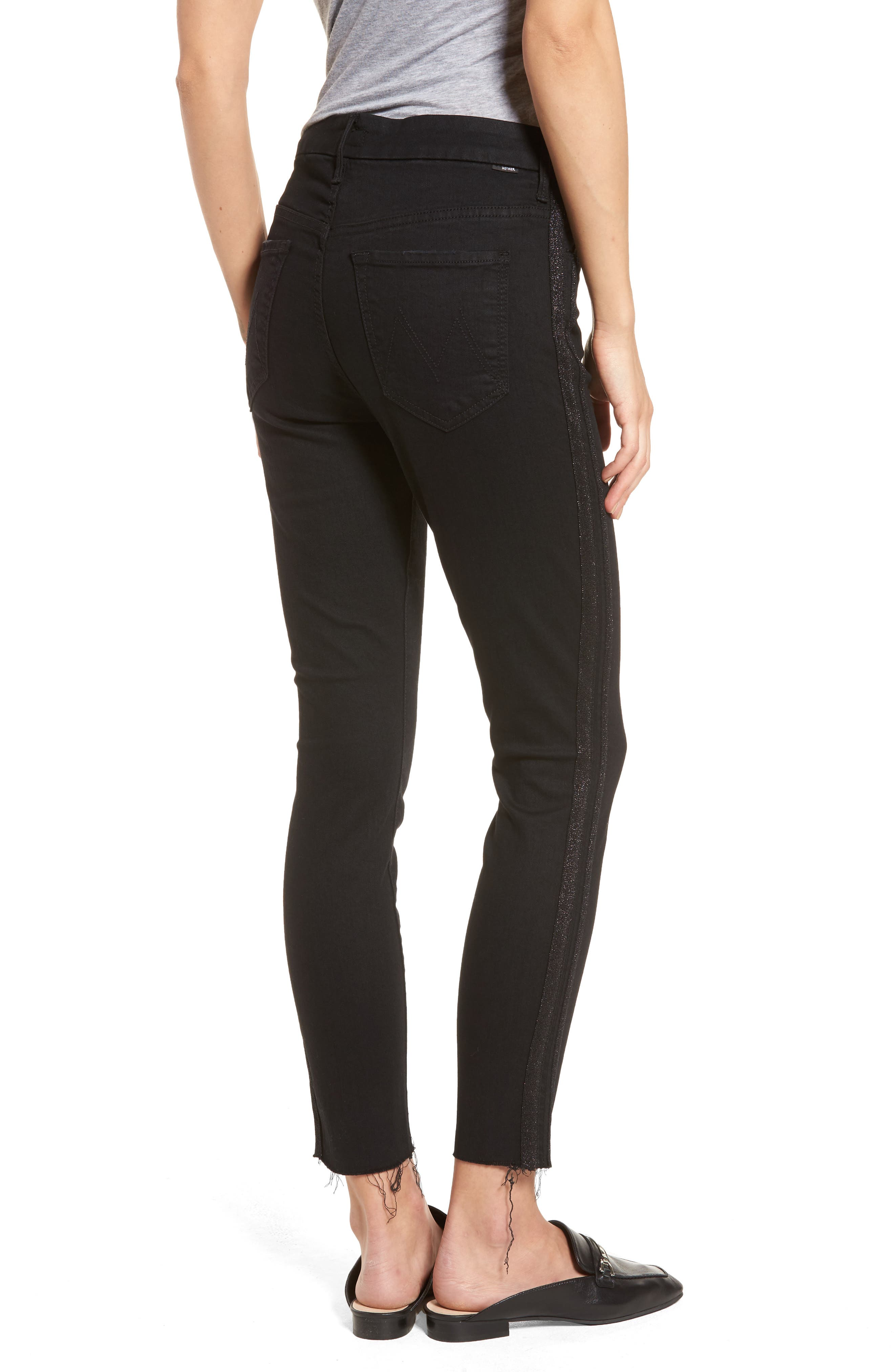 The Looker Frayed Ankle Jeans,                             Alternate thumbnail 2, color,                             Guilty Party Racer