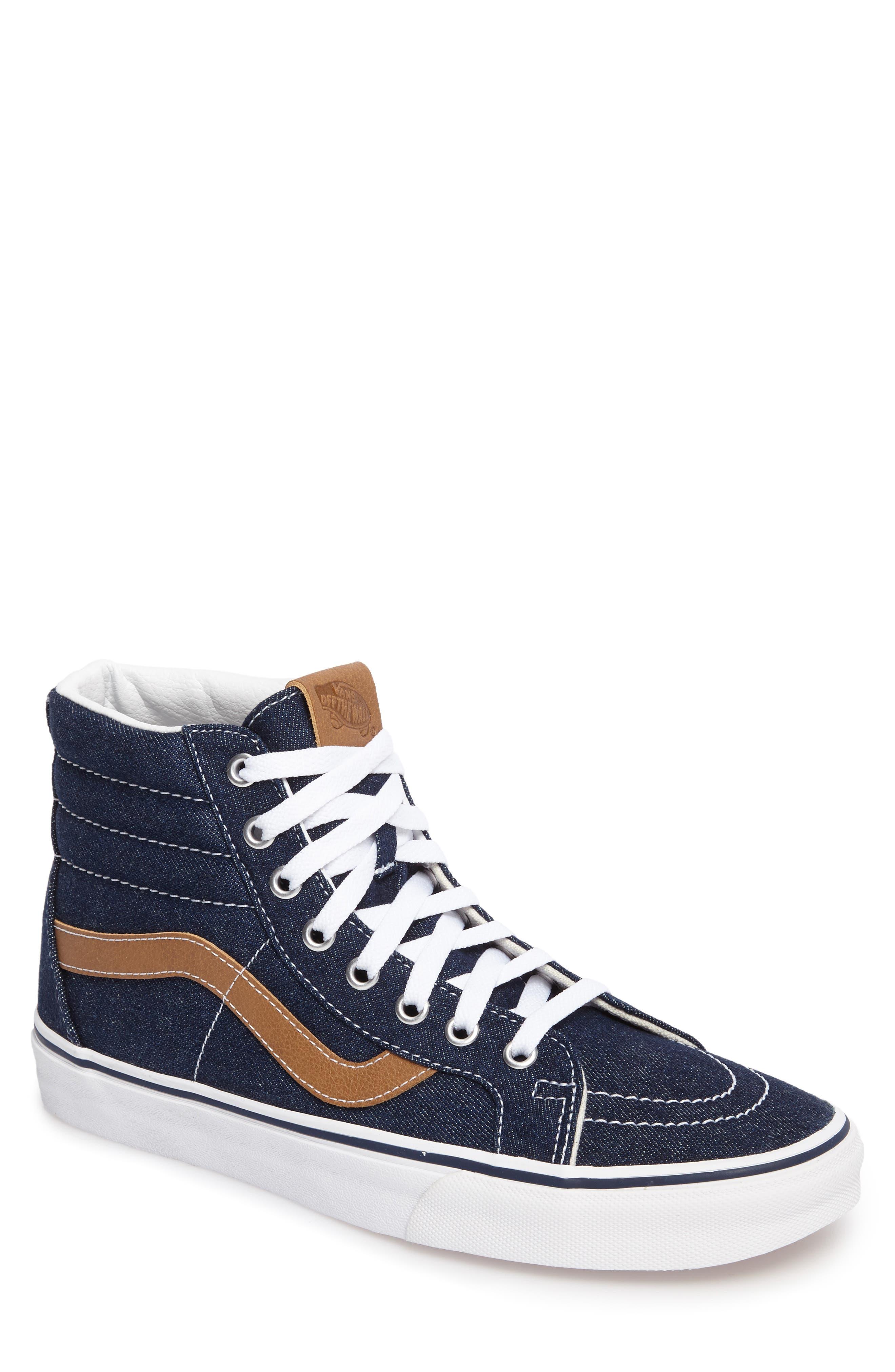 Vans Sk8-Hi Reissue Denim Sneaker (Men)