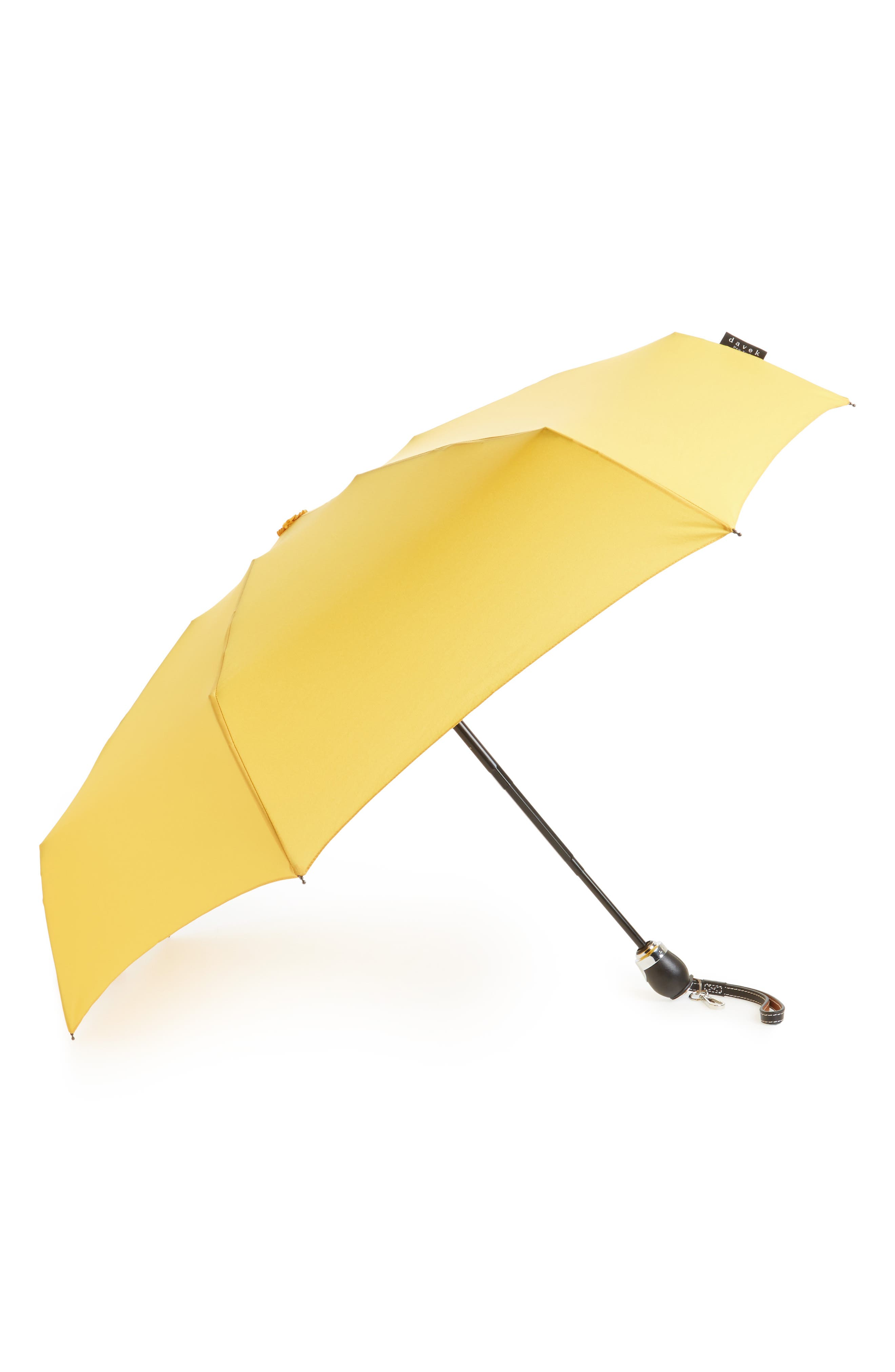 Traveler Umbrella,                             Main thumbnail 1, color,                             Sunflower Yellow