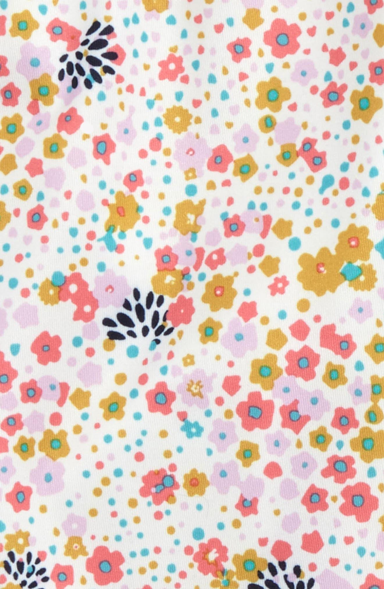 Capilene Print Leggings,                             Alternate thumbnail 2, color,                             Flurry Floral:Birch White