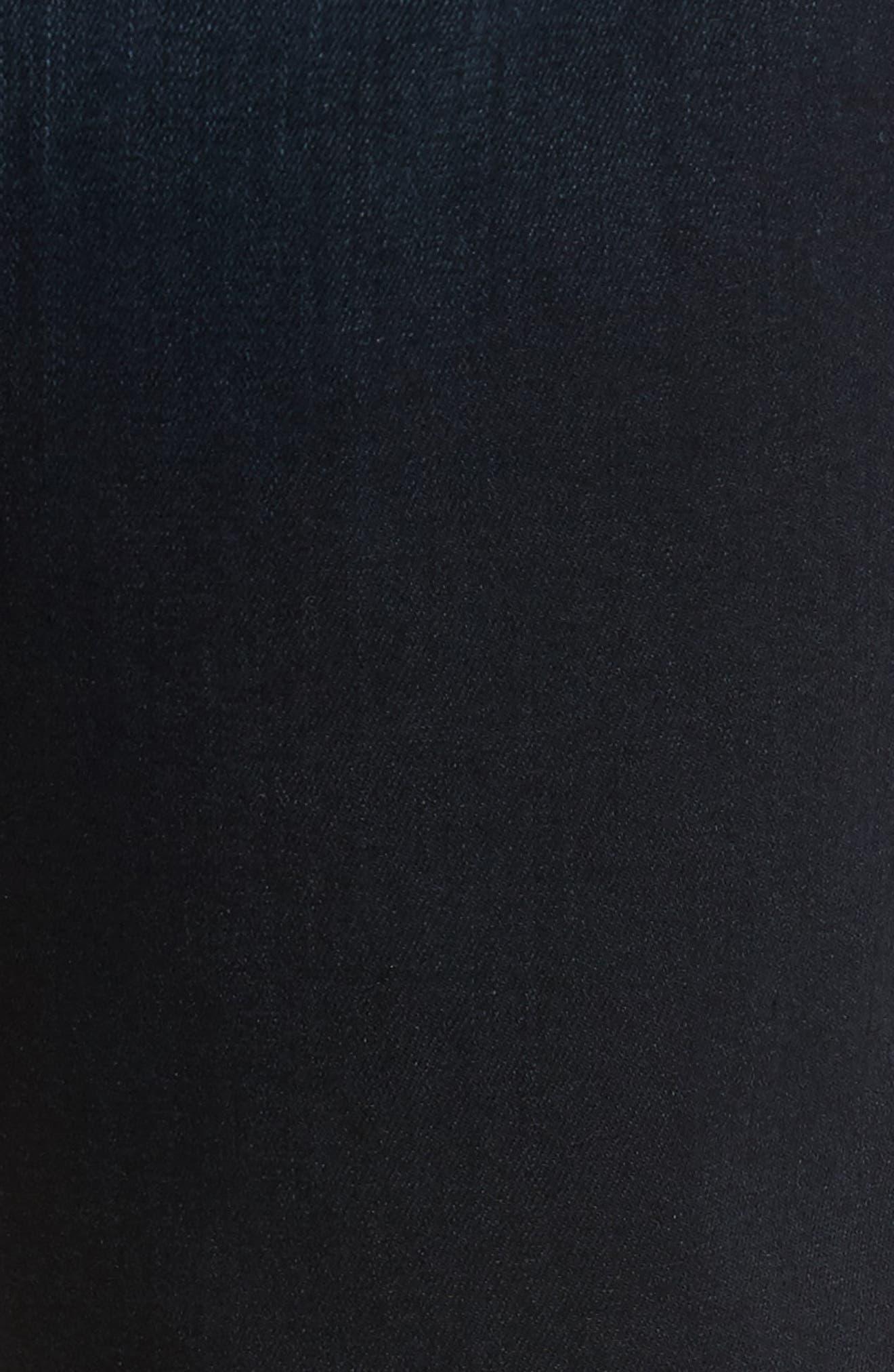 Alternate Image 5  - PAIGE Transcend - Lennox Slim Fit Jeans (Rafter)