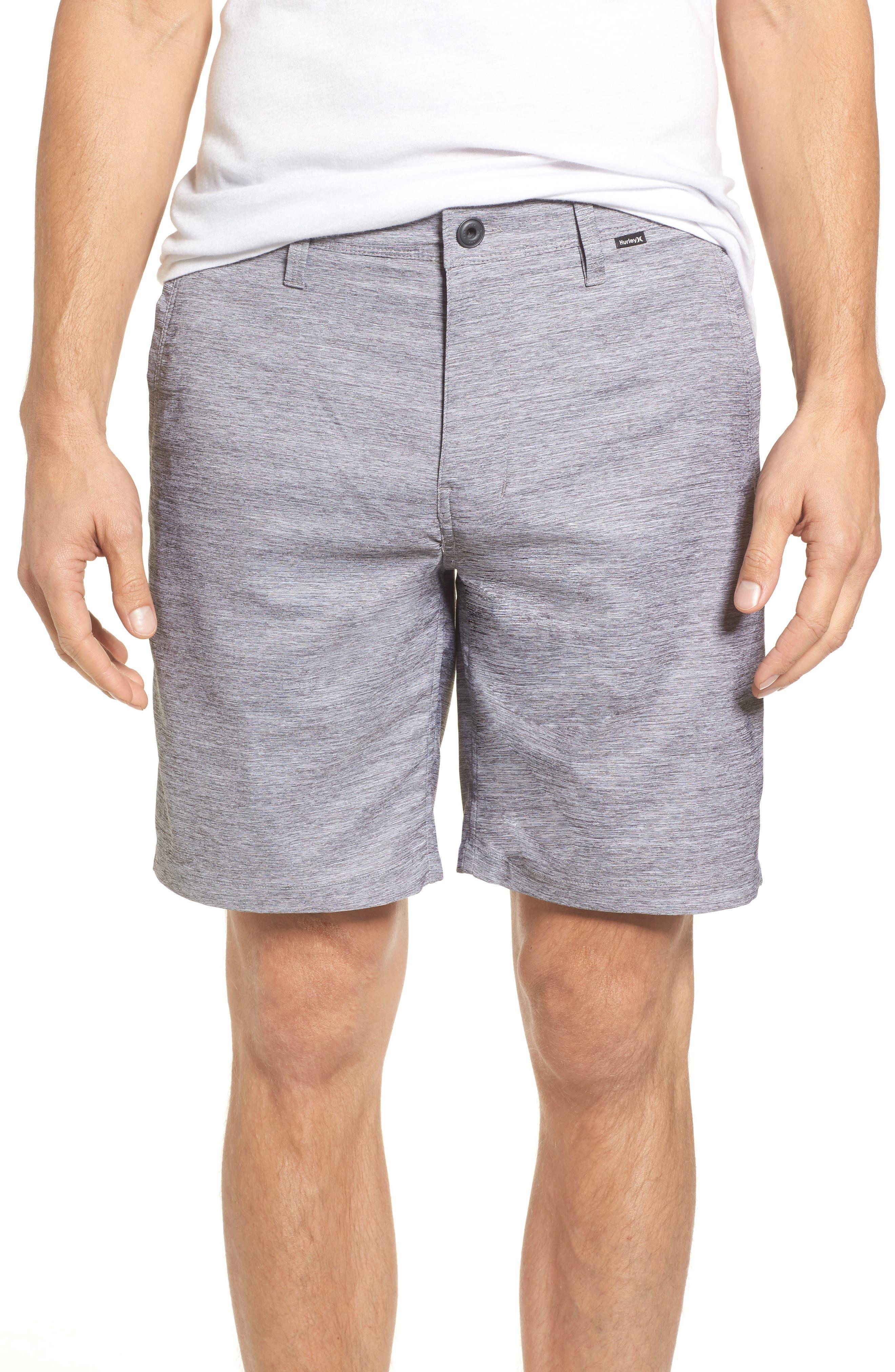 Hurley Dri-FIT Shorts. BLACK; NOISE AQUA; WOLF GREY