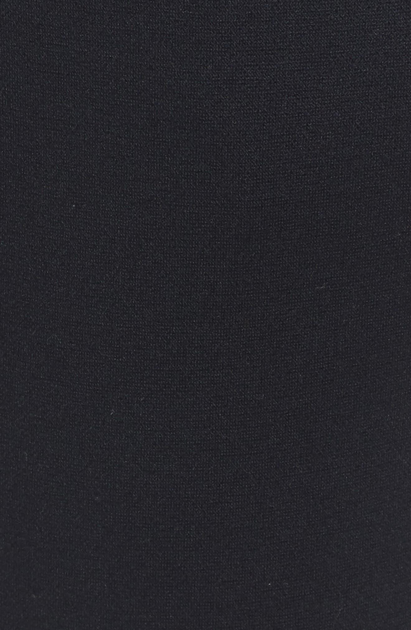 Courtside Training Pants,                             Alternate thumbnail 5, color,                             Black / Black / Black