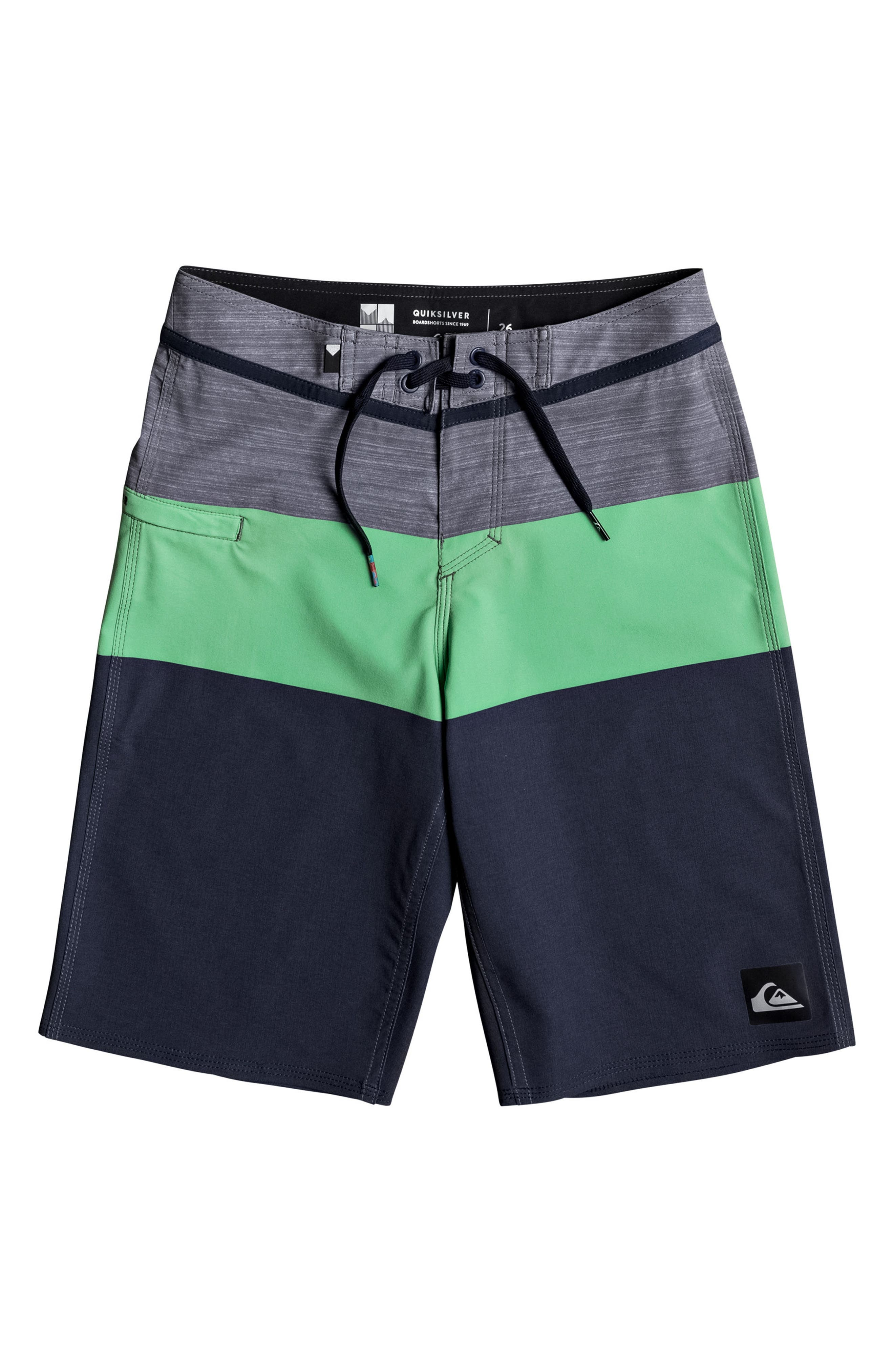 Main Image - Quiksilver Everyday Blocked Vee Board Shorts (Big Boys)