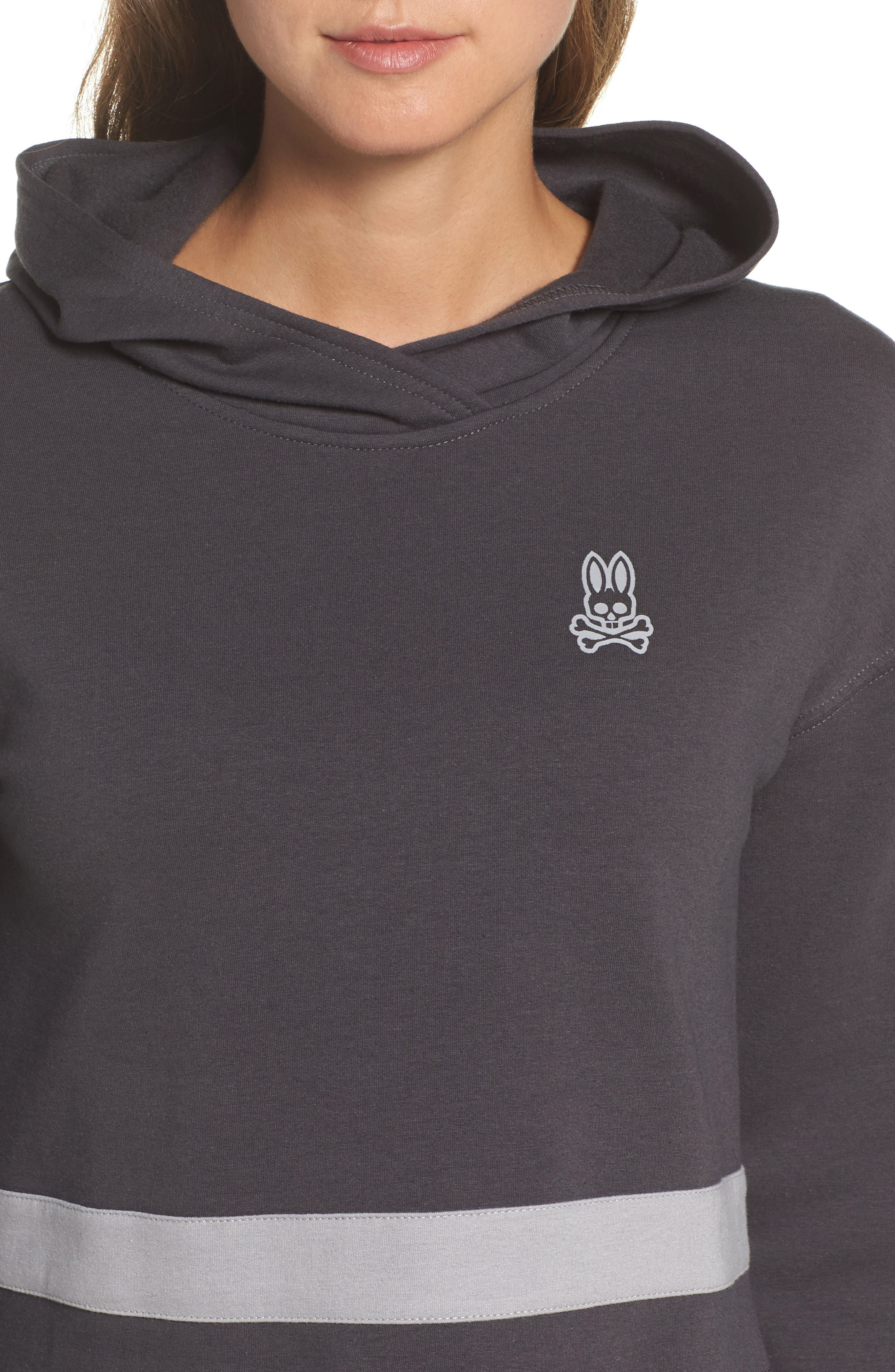Comfy Lounge Hoodie,                             Alternate thumbnail 6, color,                             Forged Iron