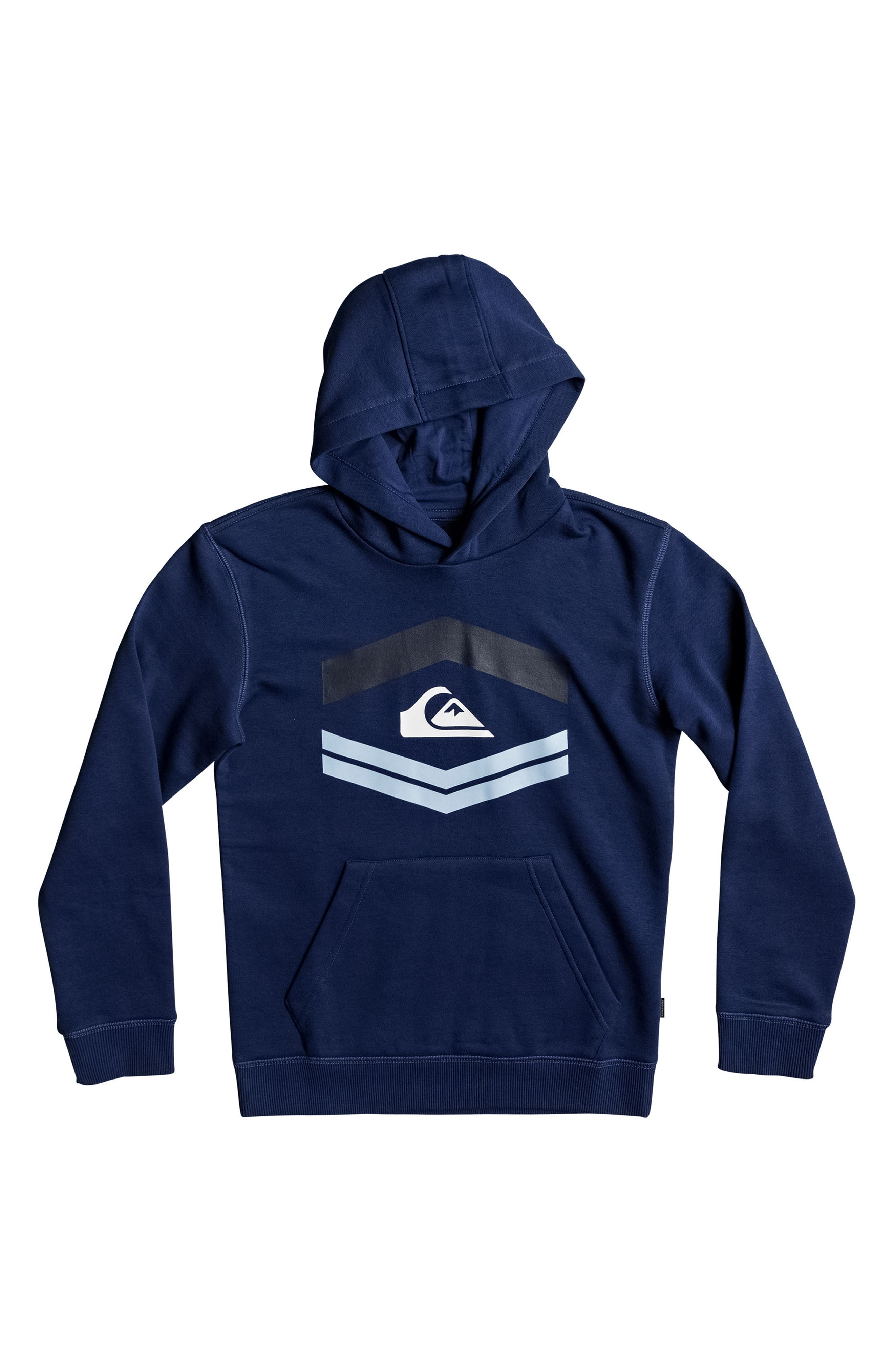 New Port Roca Graphic Pullover Hoodie,                         Main,                         color, Estate Blue