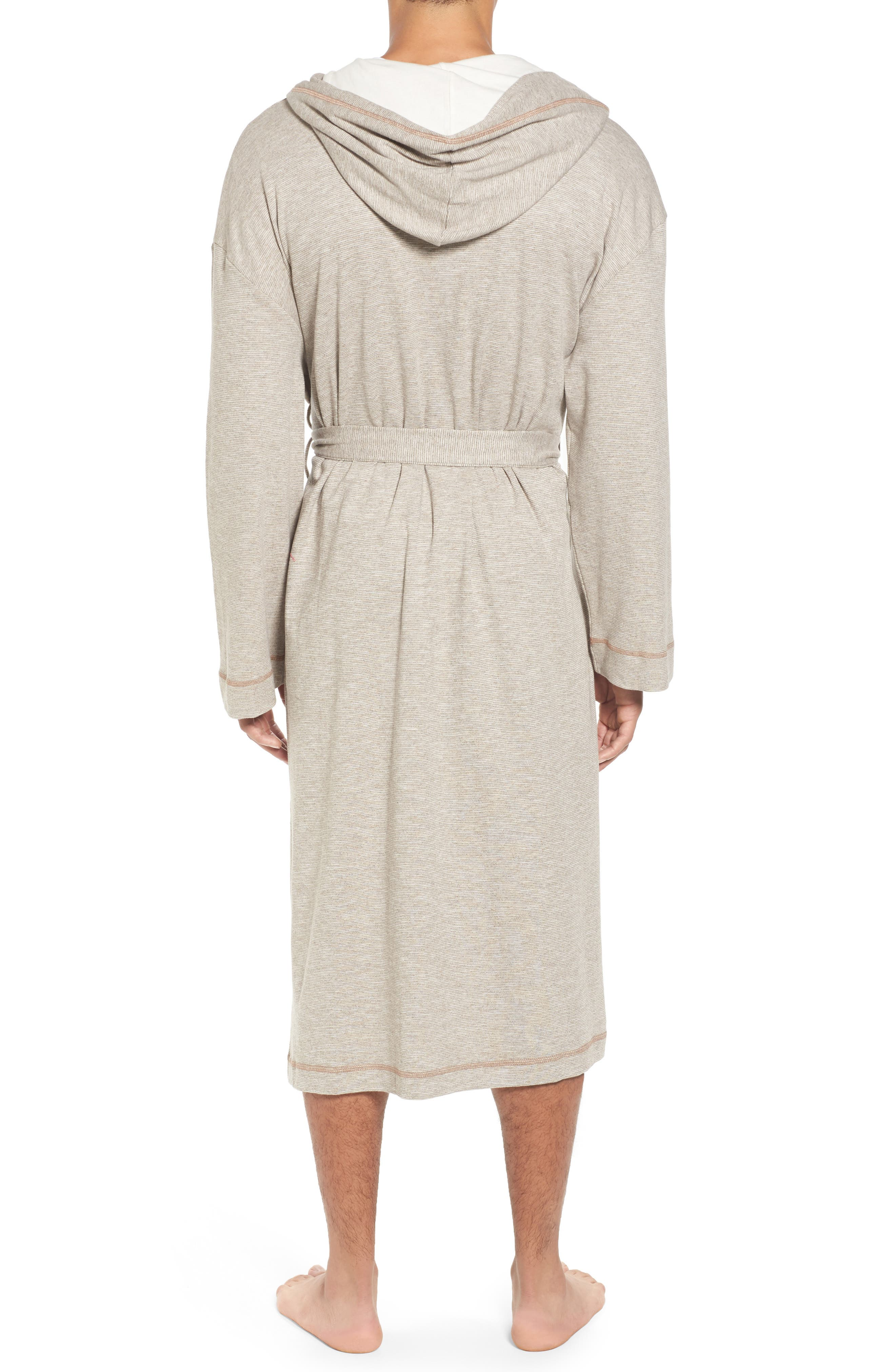 Vintage Space Cadet Robe,                             Alternate thumbnail 2, color,                             Cocoa